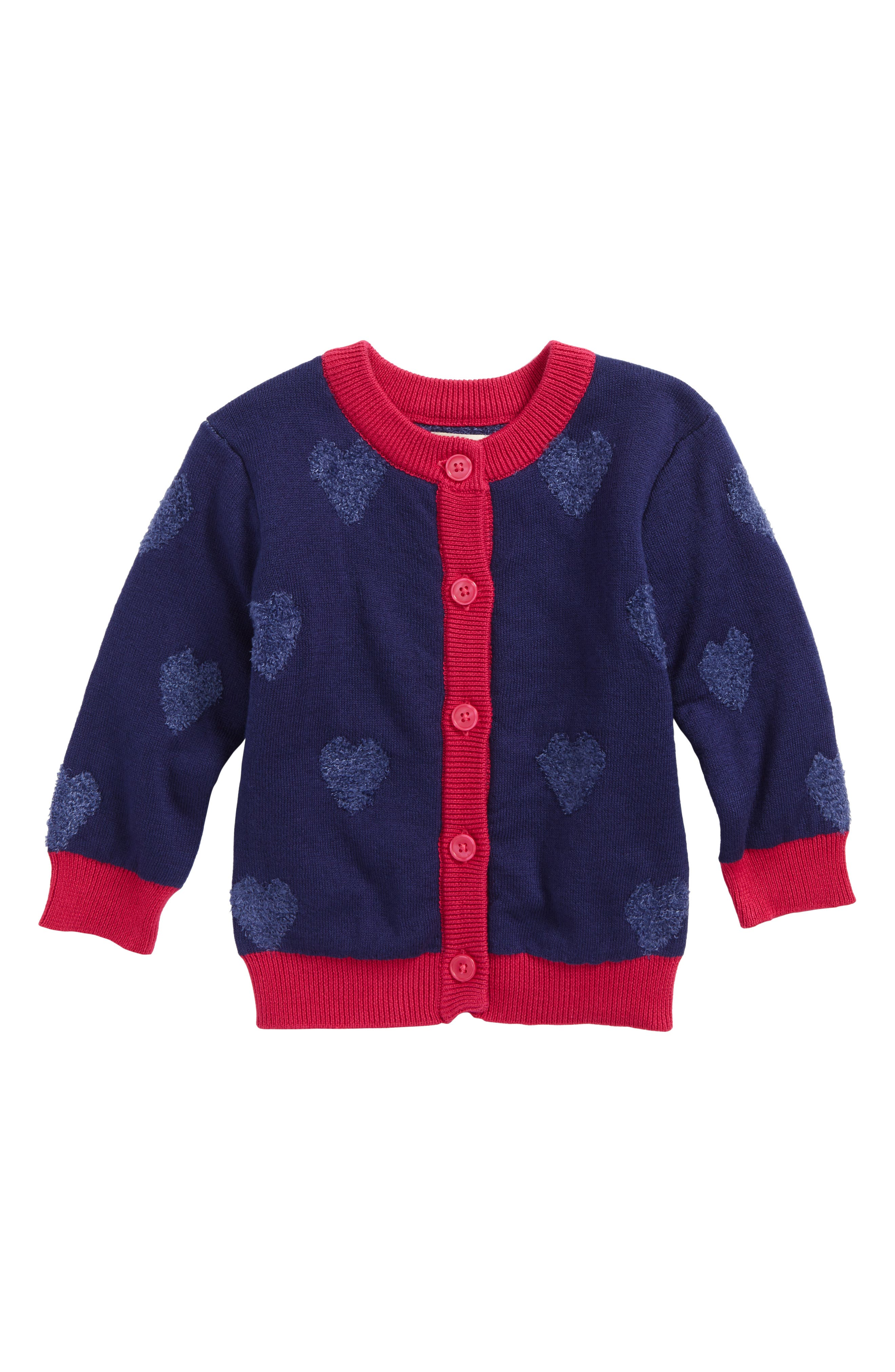 Hatley Be Still My Heart Cardigan (Baby Girls)