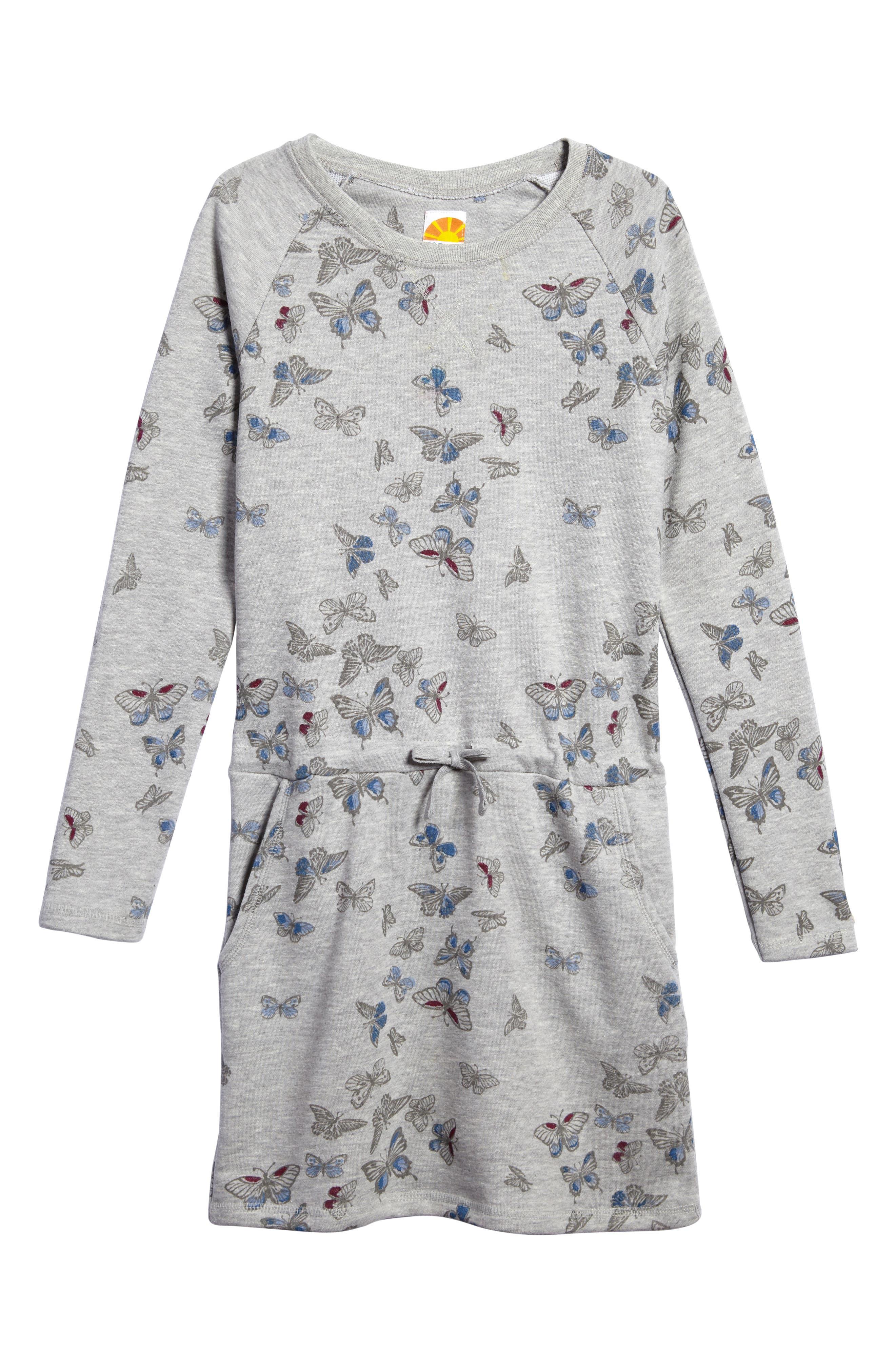 Main Image - C & C California Graphic Sweater Dress (Big Girls)