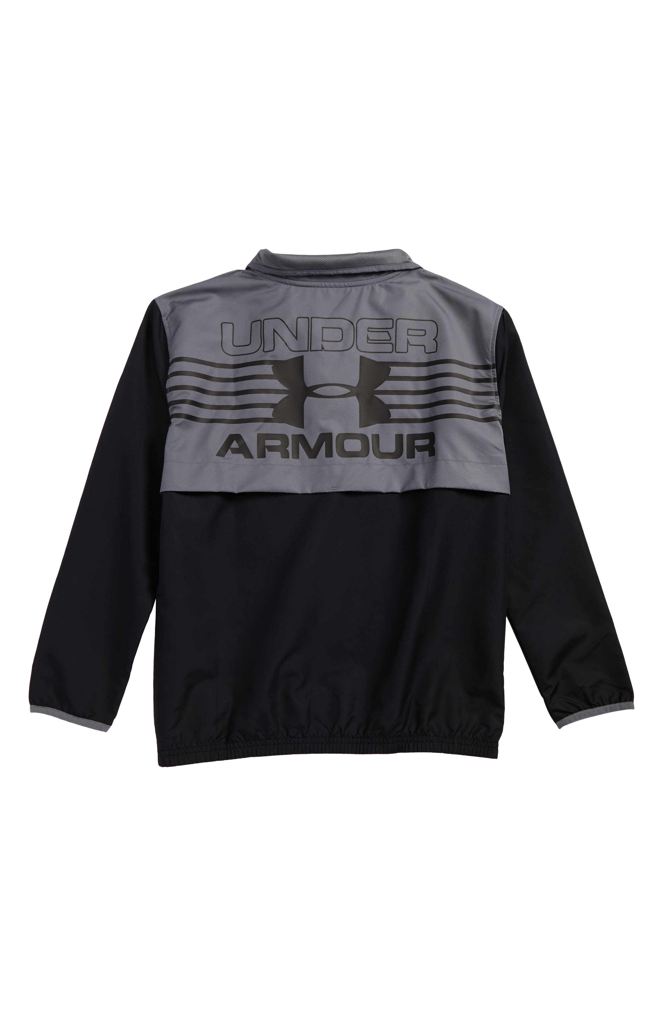 Alternate Image 2  - Under Armour Train to Game Half Zip Pullover (Little Boys & Big Boys)