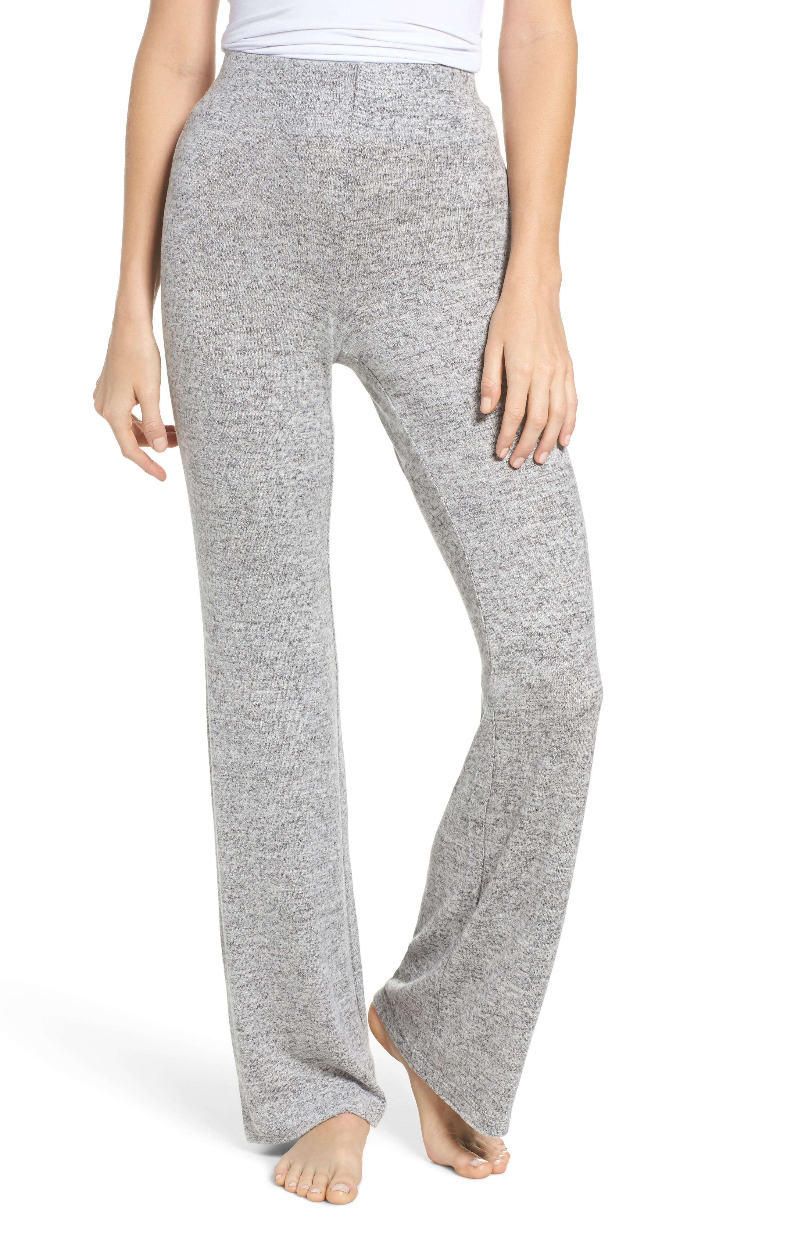 Wendall Wide Leg Lounge Pants,                         Main,                         color, H Grey