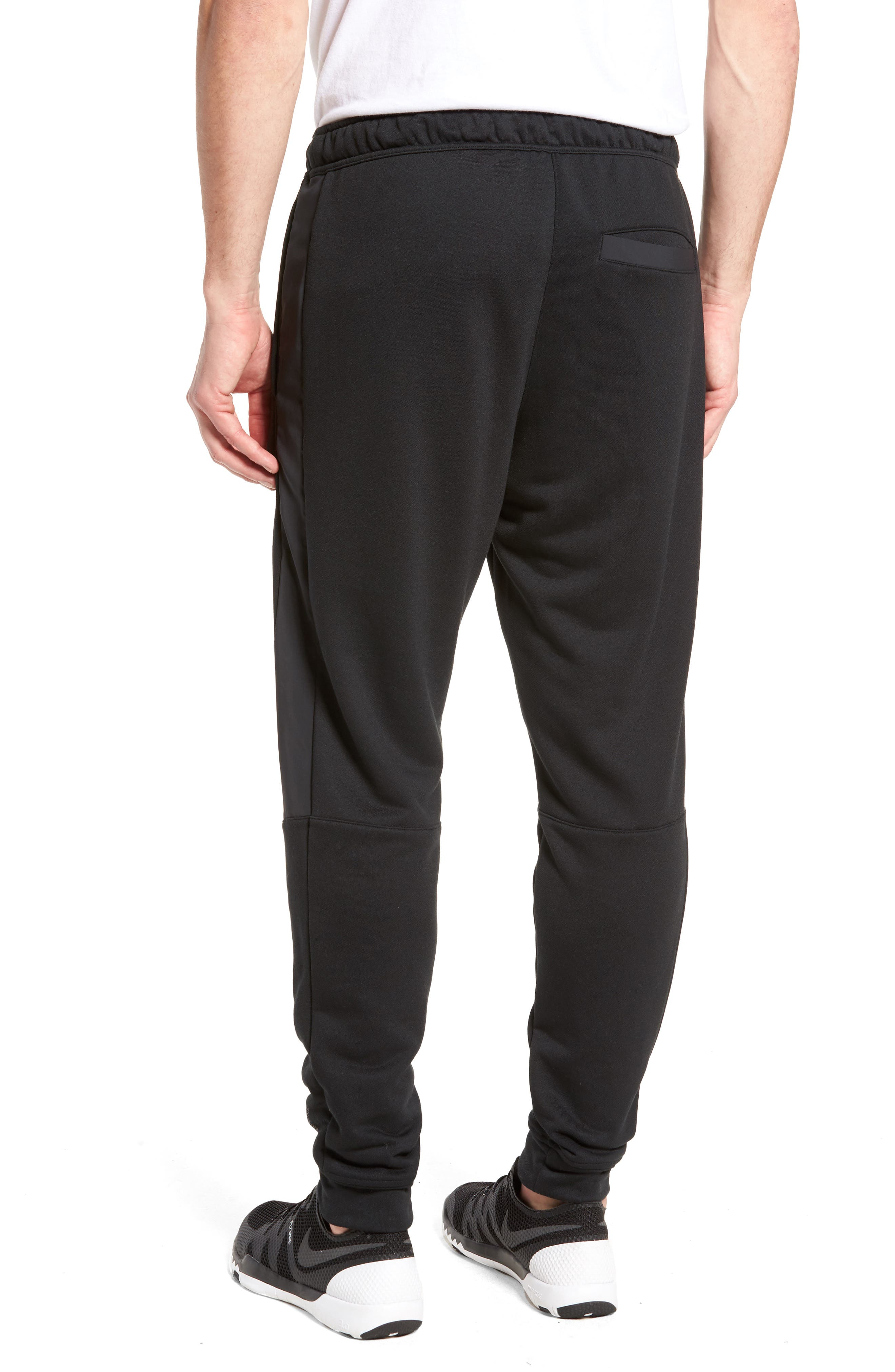 Training Project X Jogger Pants,                             Alternate thumbnail 2, color,                             Black/ Black/ White