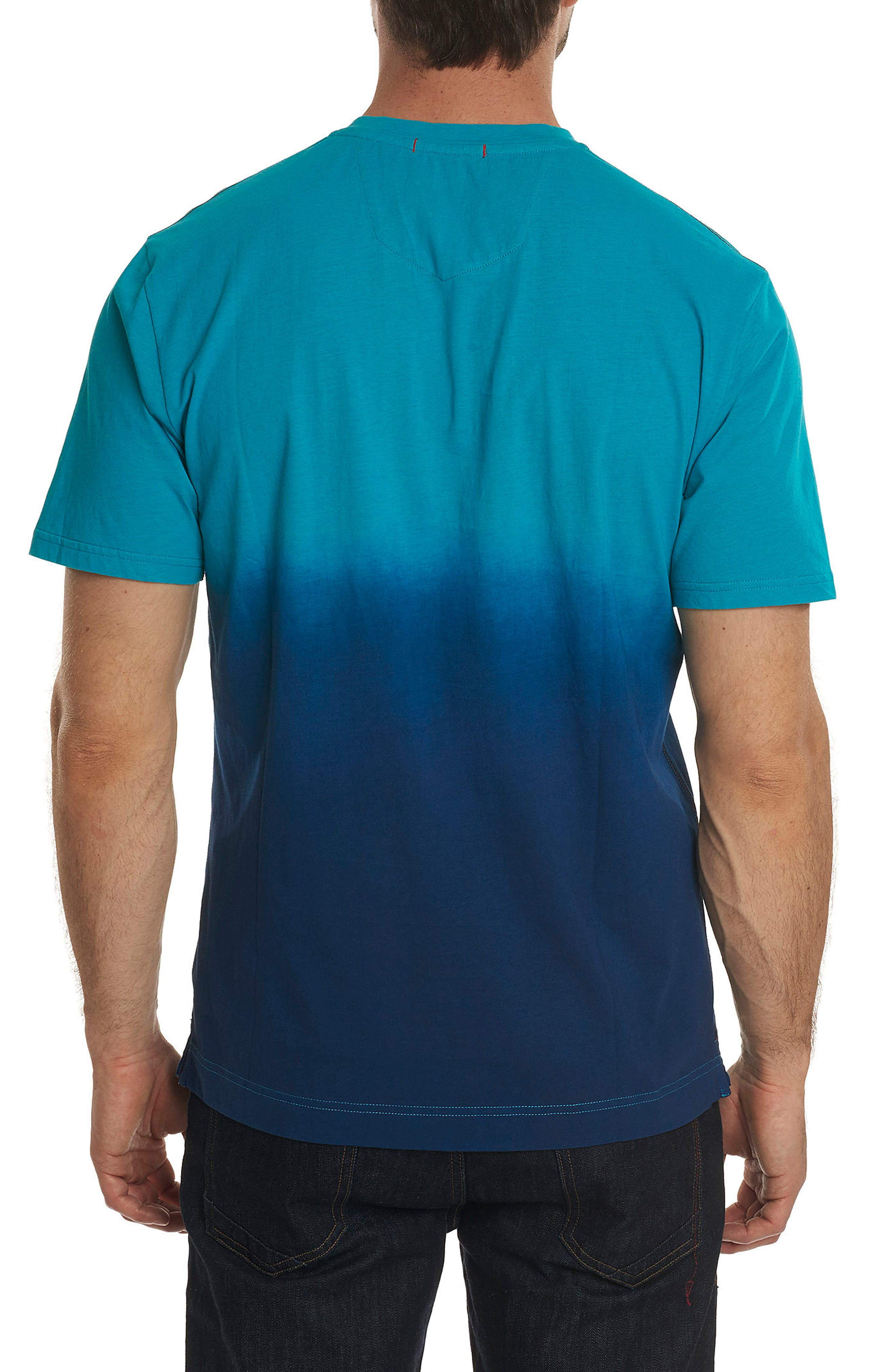 Into the Wind Knit Graphic T-Shirt,                             Alternate thumbnail 2, color,                             Teal