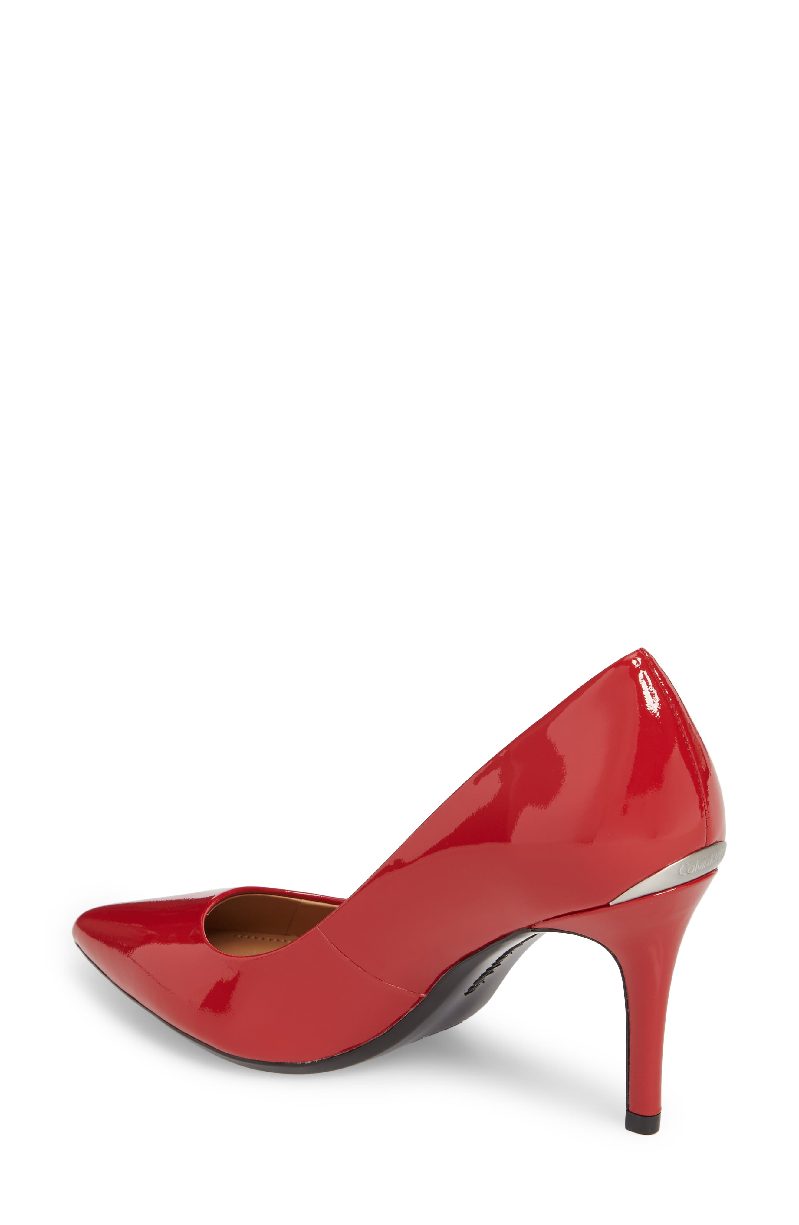 Mens Crimson Red Wedding Shoes Printed MJ014494
