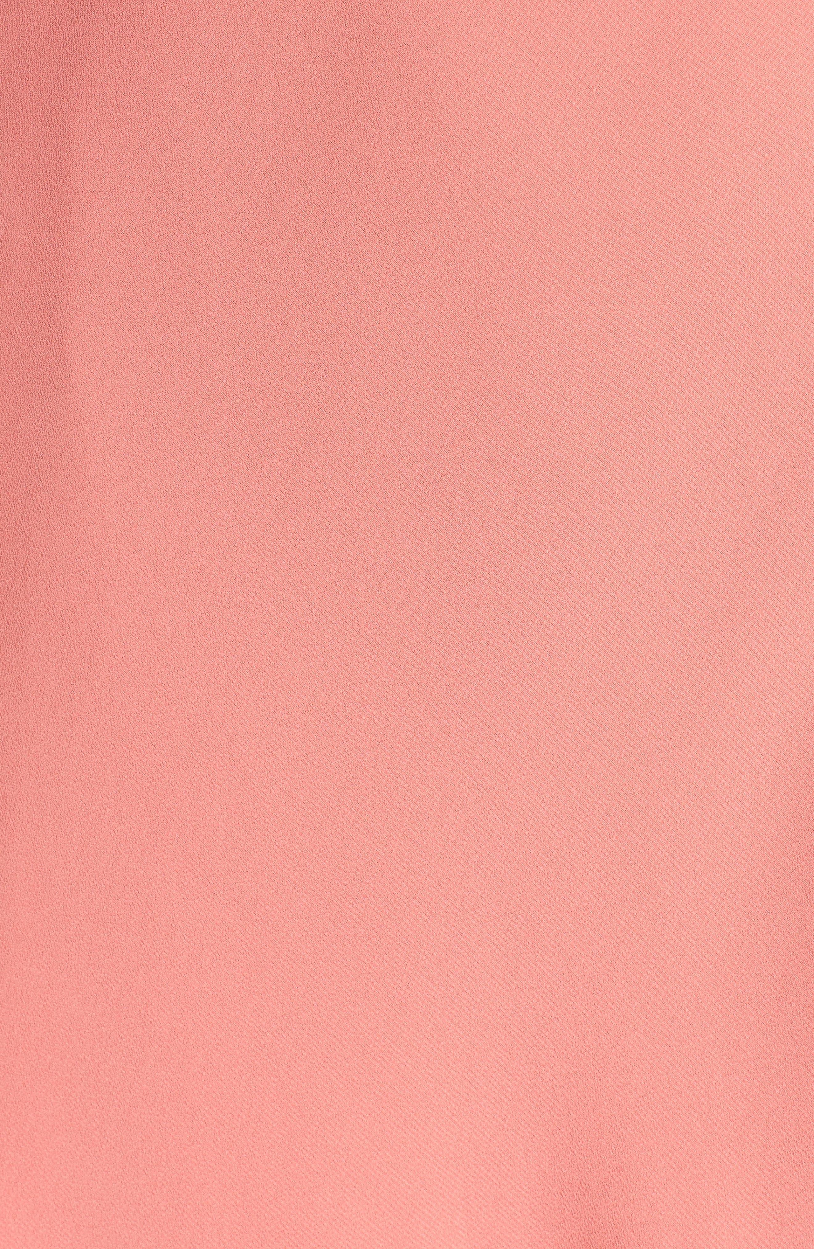Alternate Image 5  - WAYF Ruffle Wrap Gown