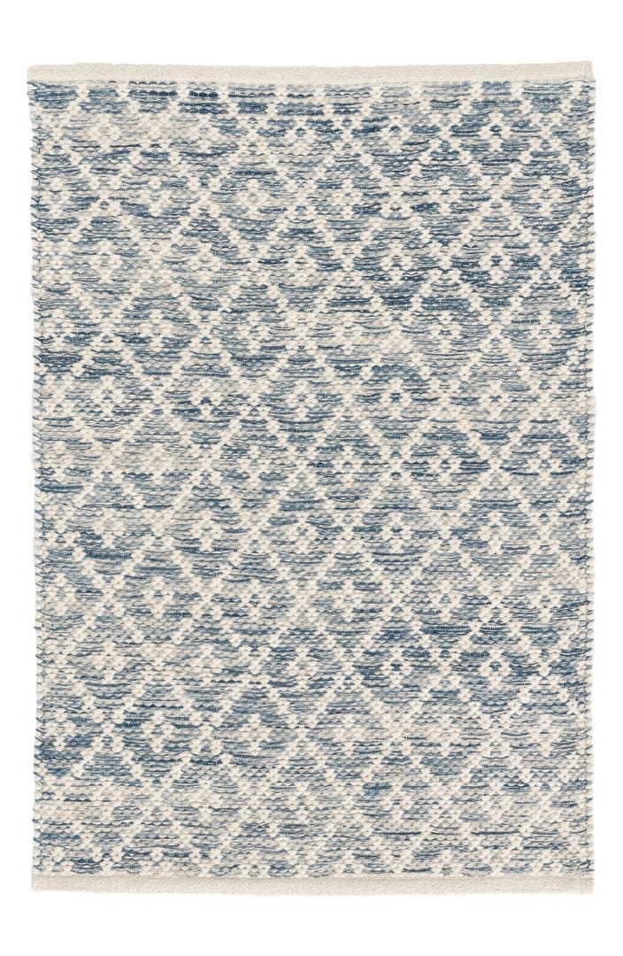 Dash albert melange diamond woven rug nordstrom for Dash and albert wool rugs