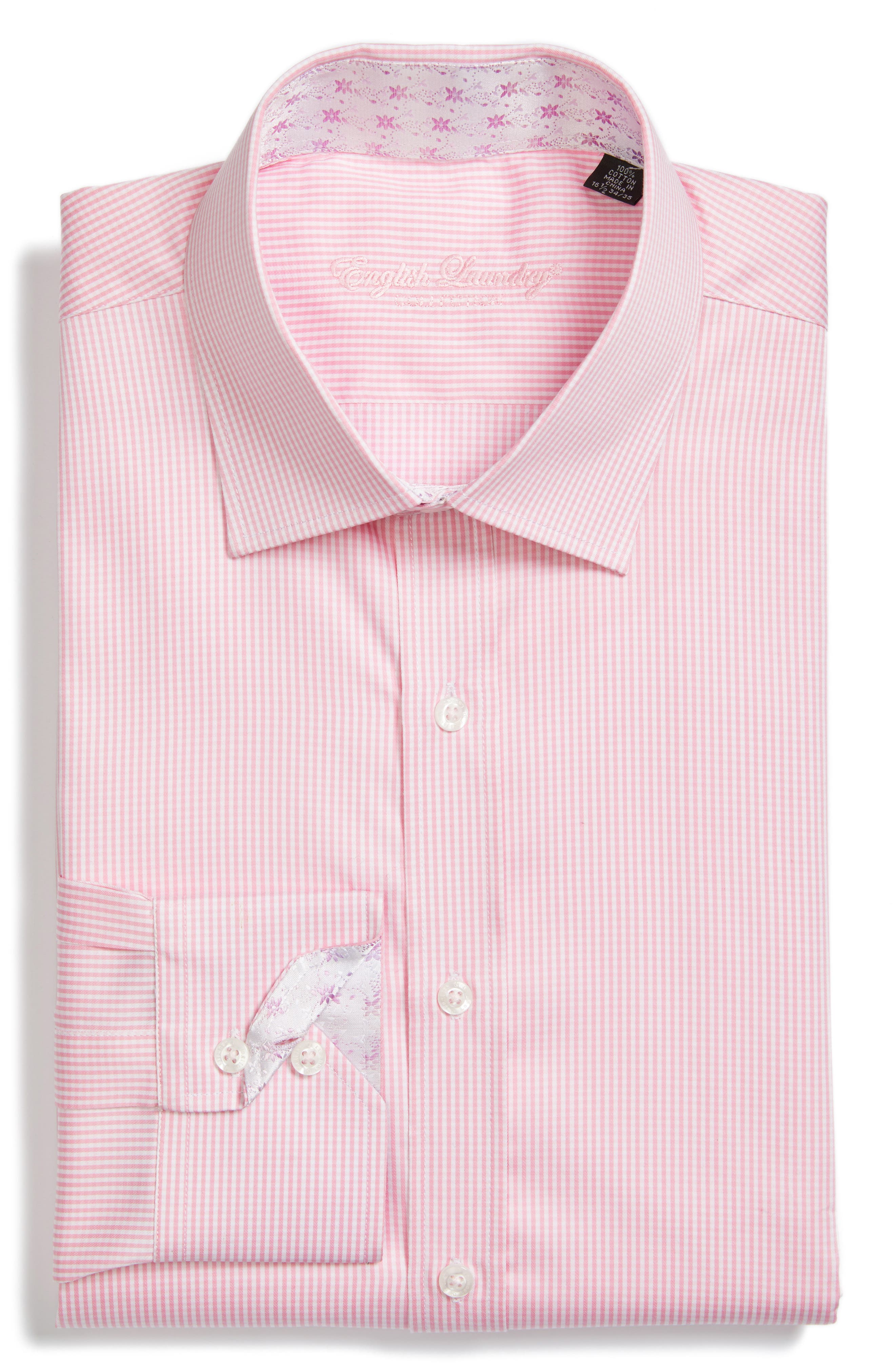 Alternate Image 1 Selected - English Laundry Trim Fit Check Dress Shirt