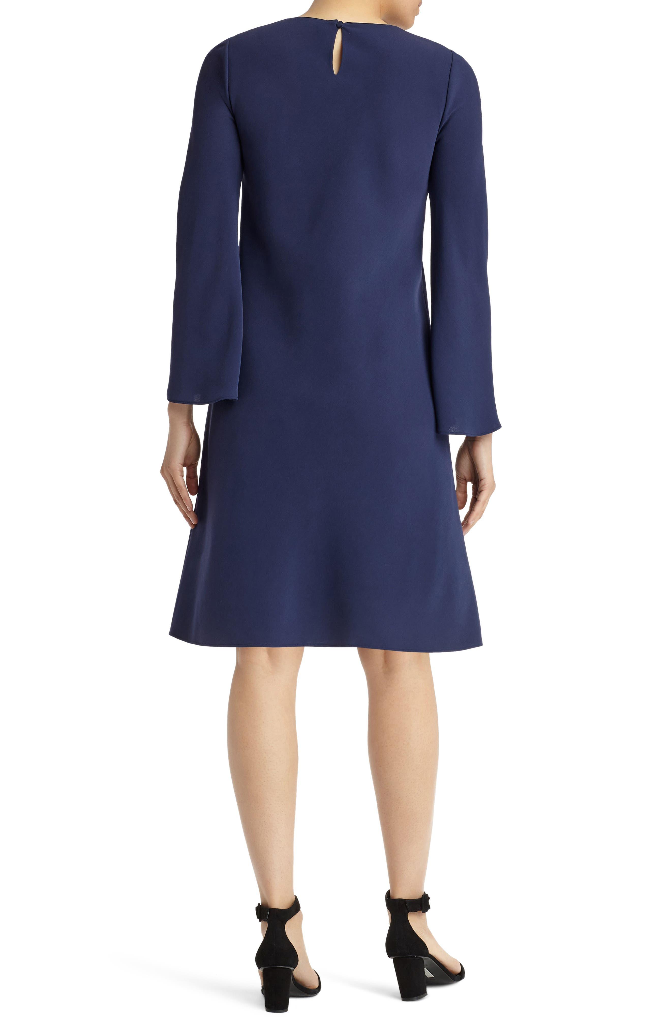 Alternate Image 2  - Lafayette 148 New York Kalitta Finesse Crepe Dress