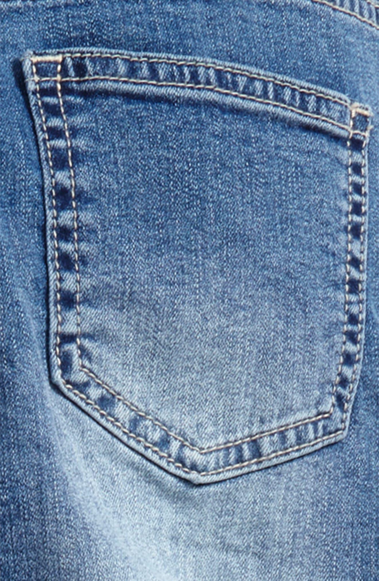 Alternate Image 3  - Billabong Side to Side Skinny Jeans (Big Girls)