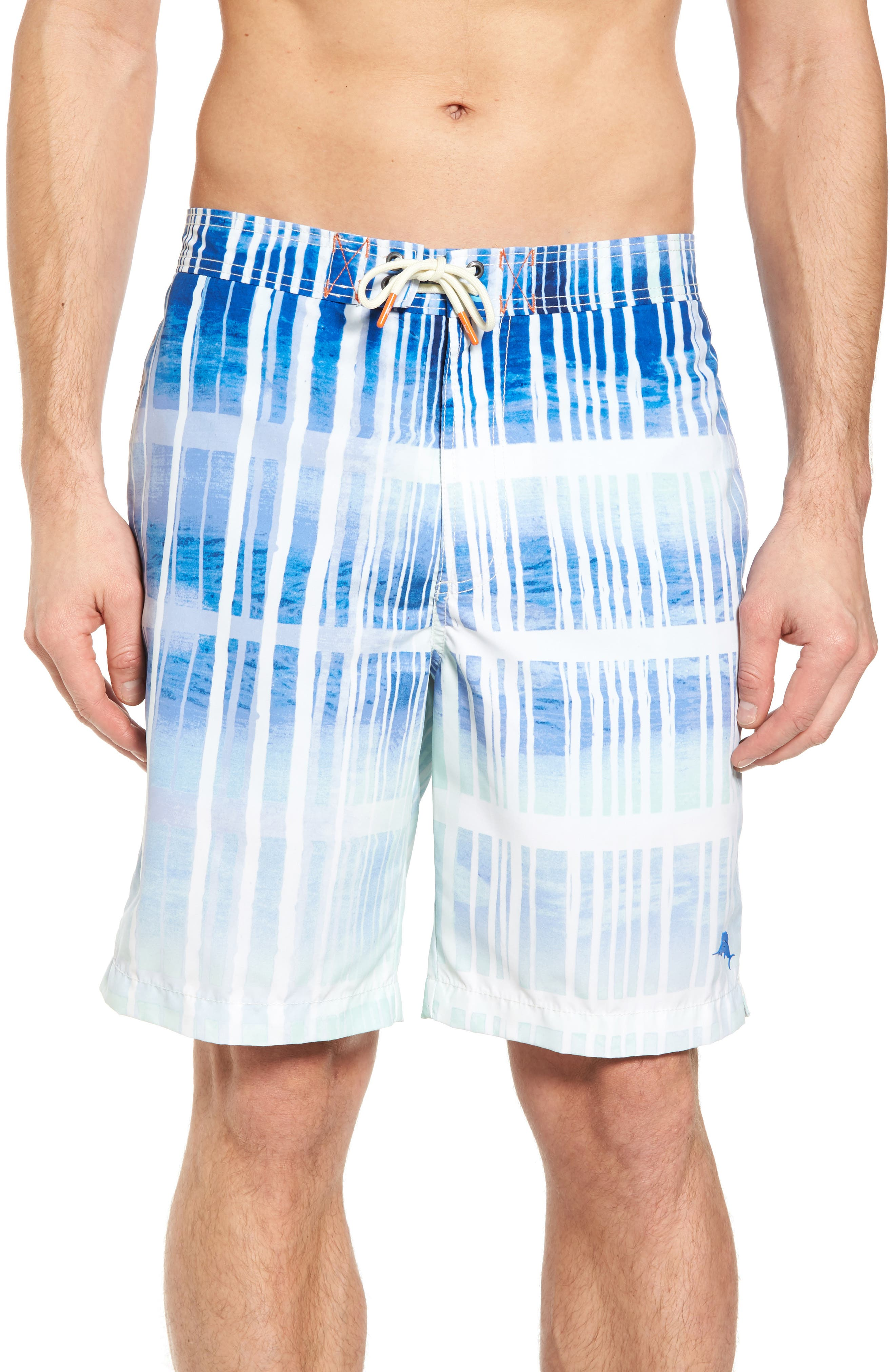 Baja Okeechobee Board Shorts,                         Main,                         color, Santorini Blue