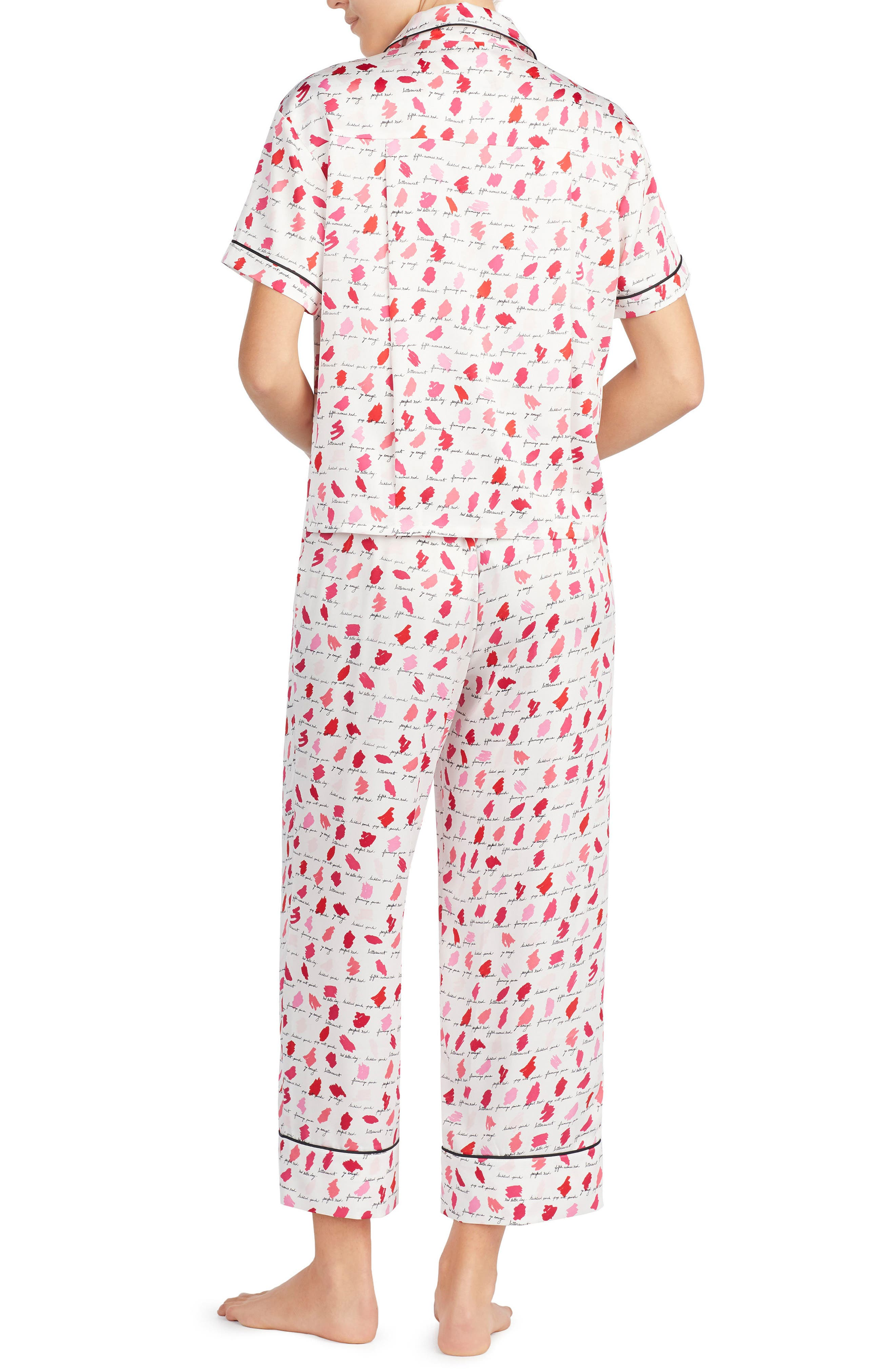 Alternate Image 2  - kate spade new york print pajamas