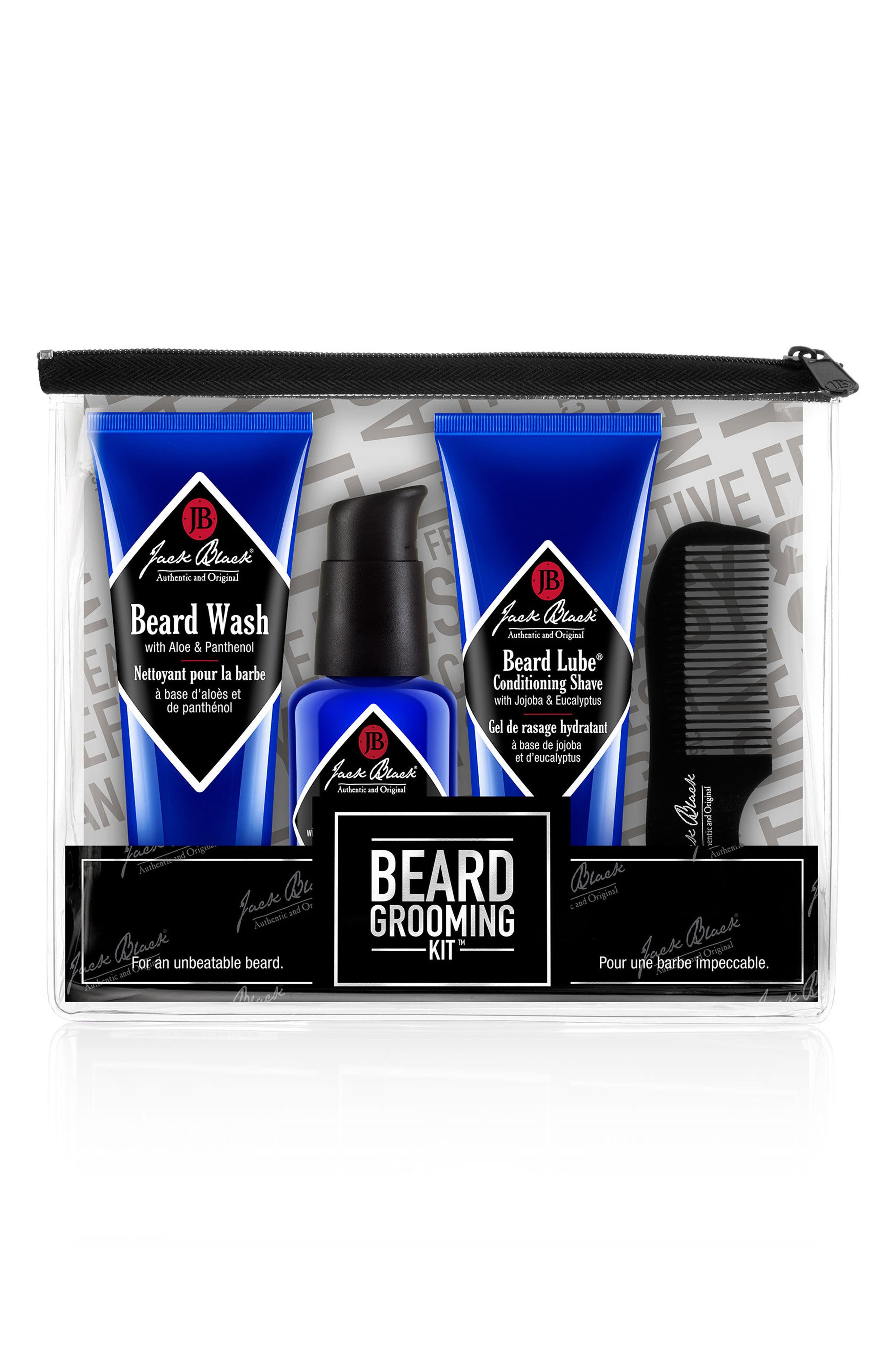 Beard Grooming Kit,                         Main,                         color, No Color