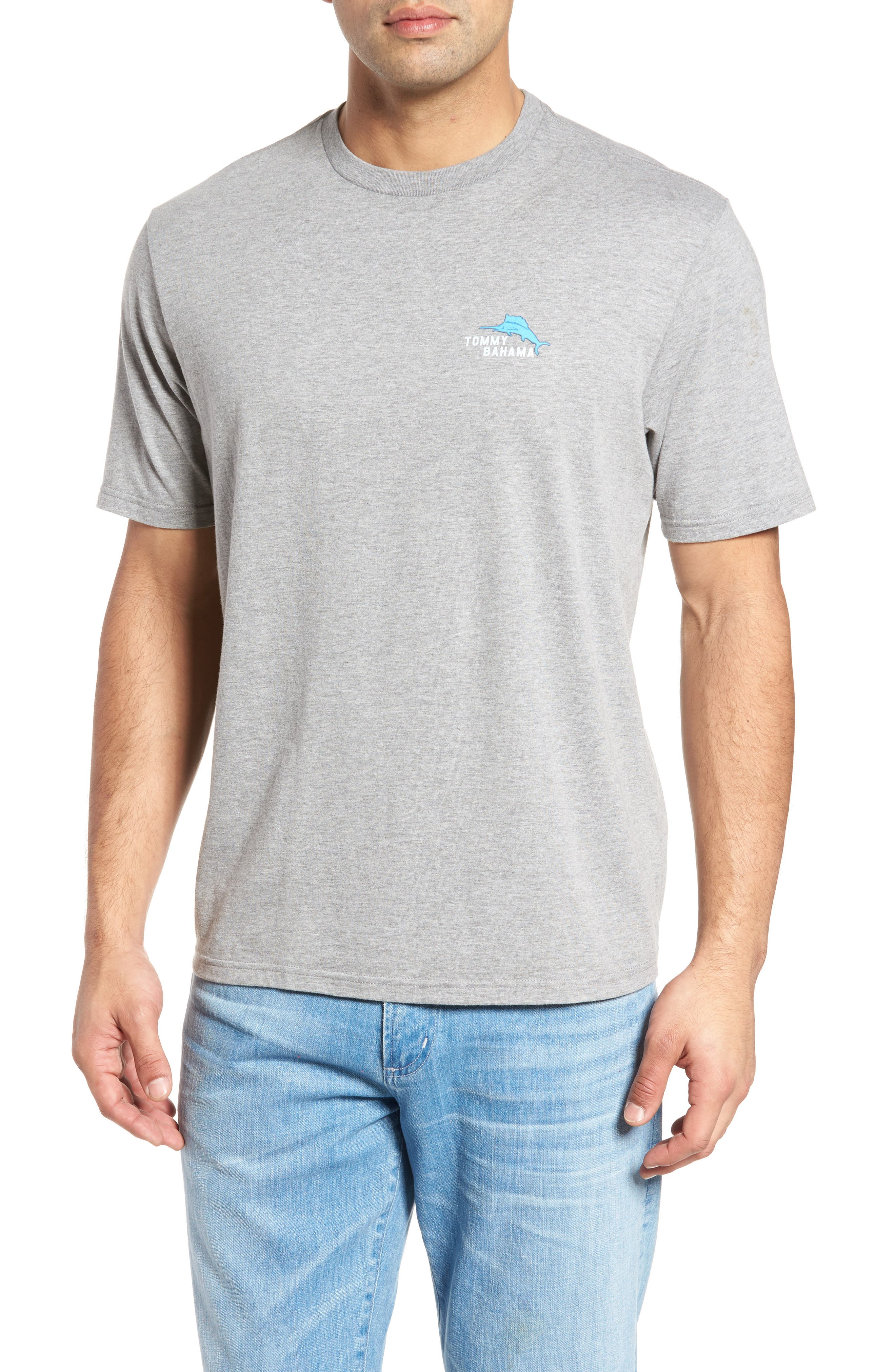 Yer Out T-Shirt,                         Main,                         color, Grey Heather