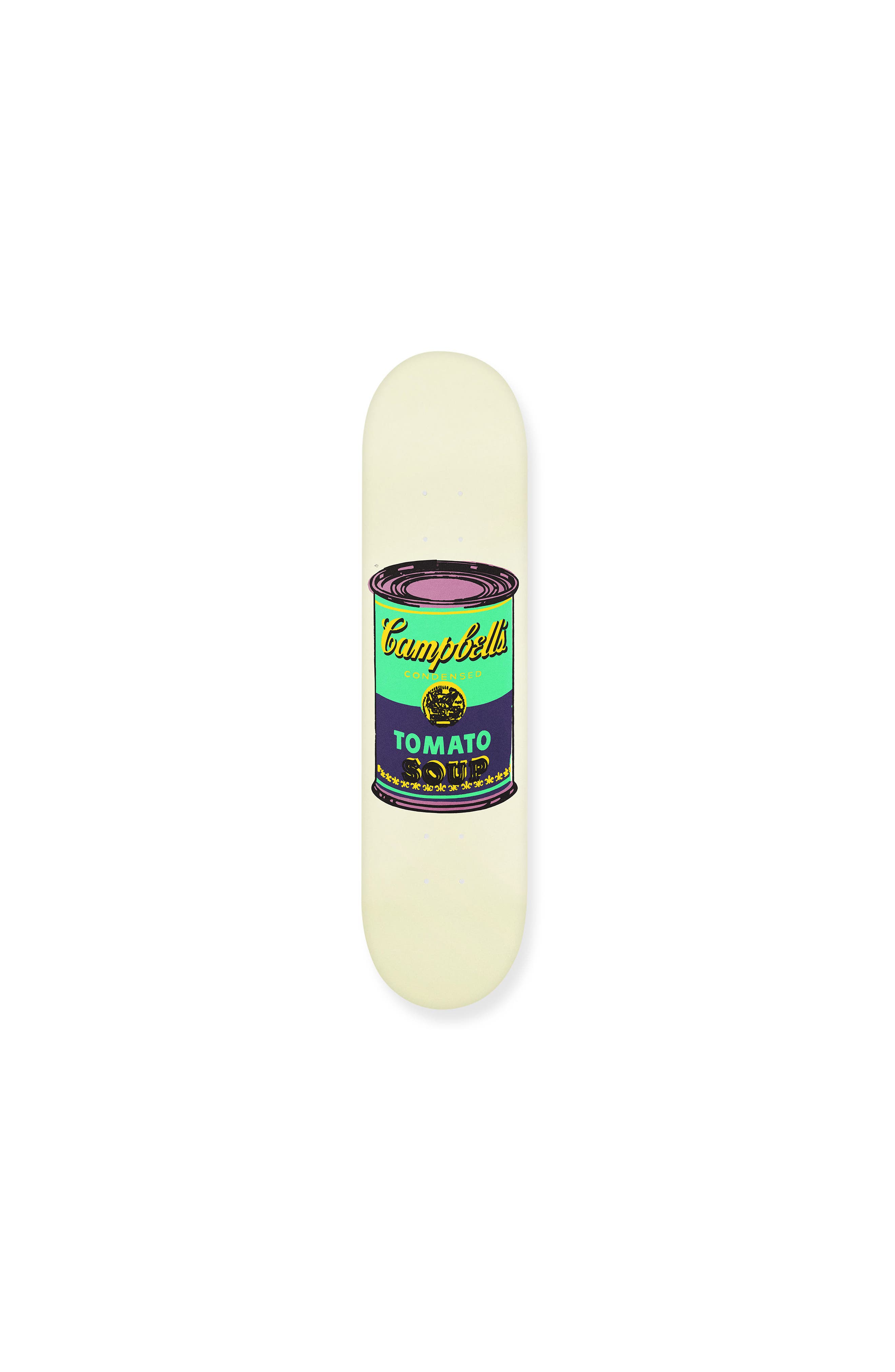 MoMA Design Store Warhol Colored Campbell's Soup Cans Skateboard Deck (Limited Edition)