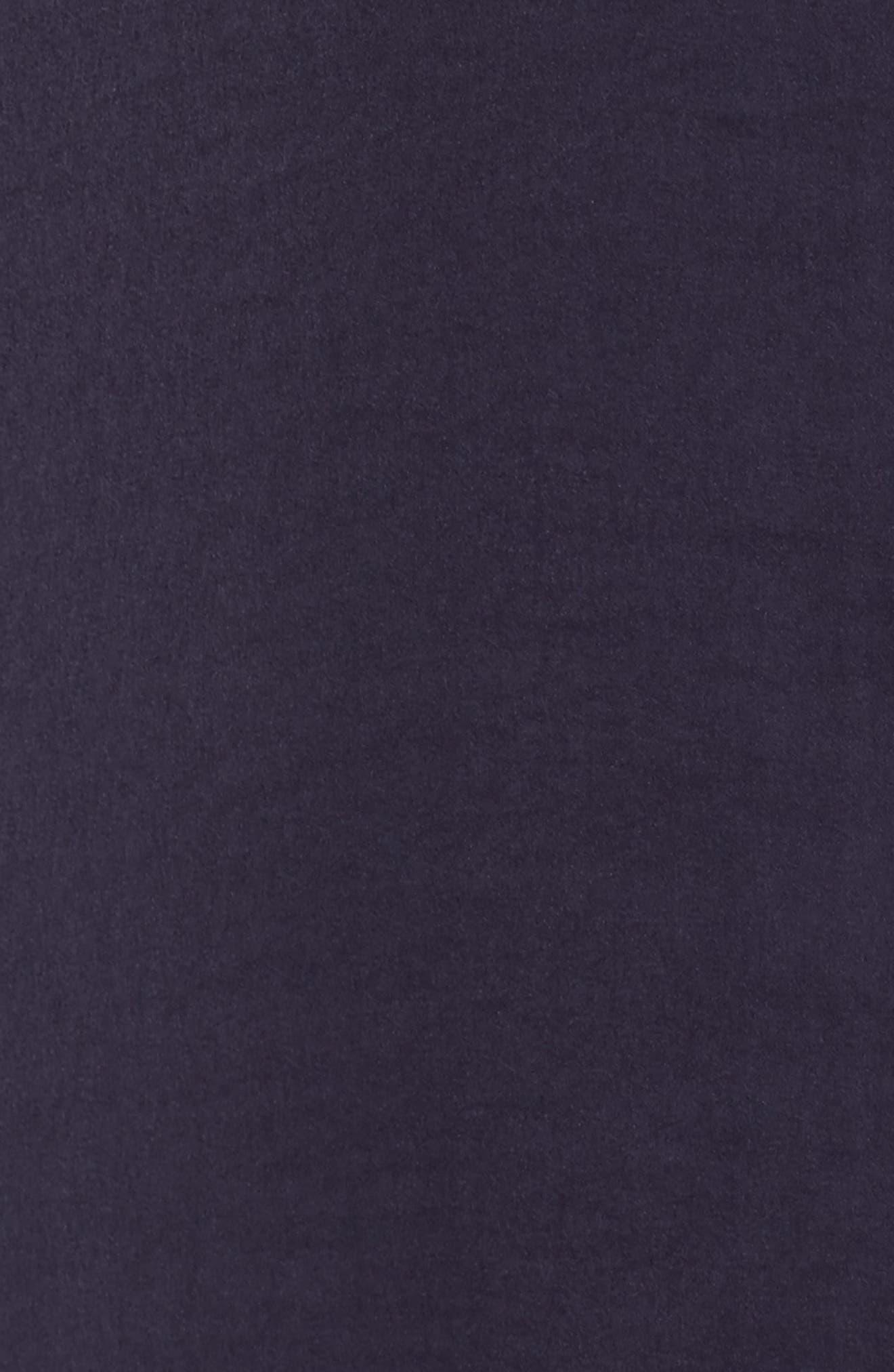 Satin Maxi Sleep Shirt,                             Alternate thumbnail 6, color,                             Plum