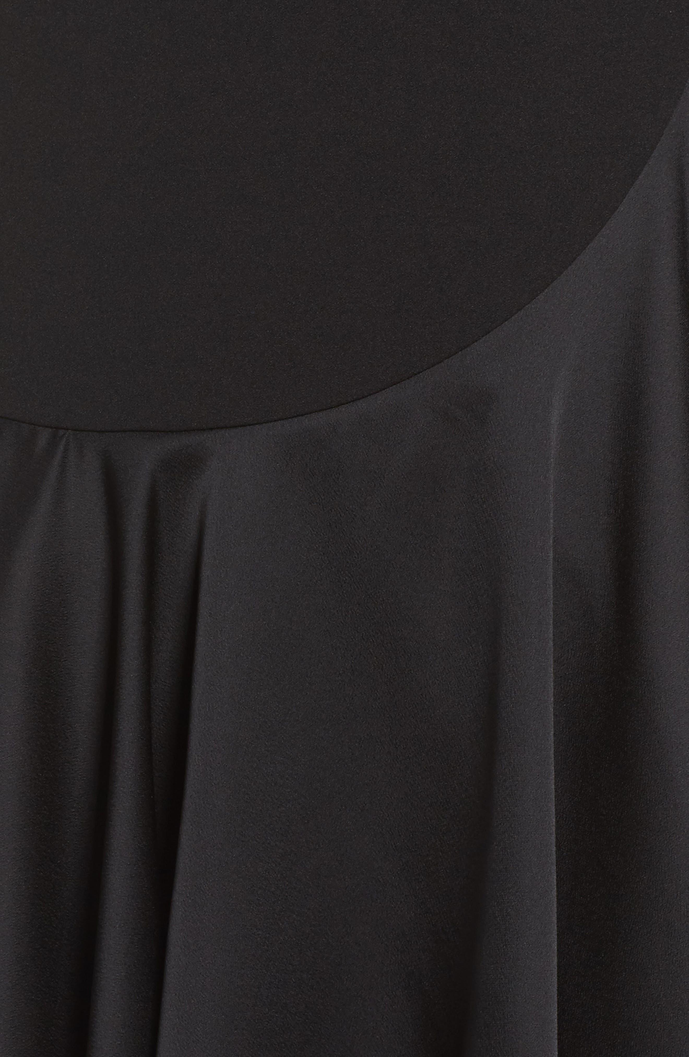 Alternate Image 5  - Taylor Dresses Ruffle Hem Fit & Flare Dress
