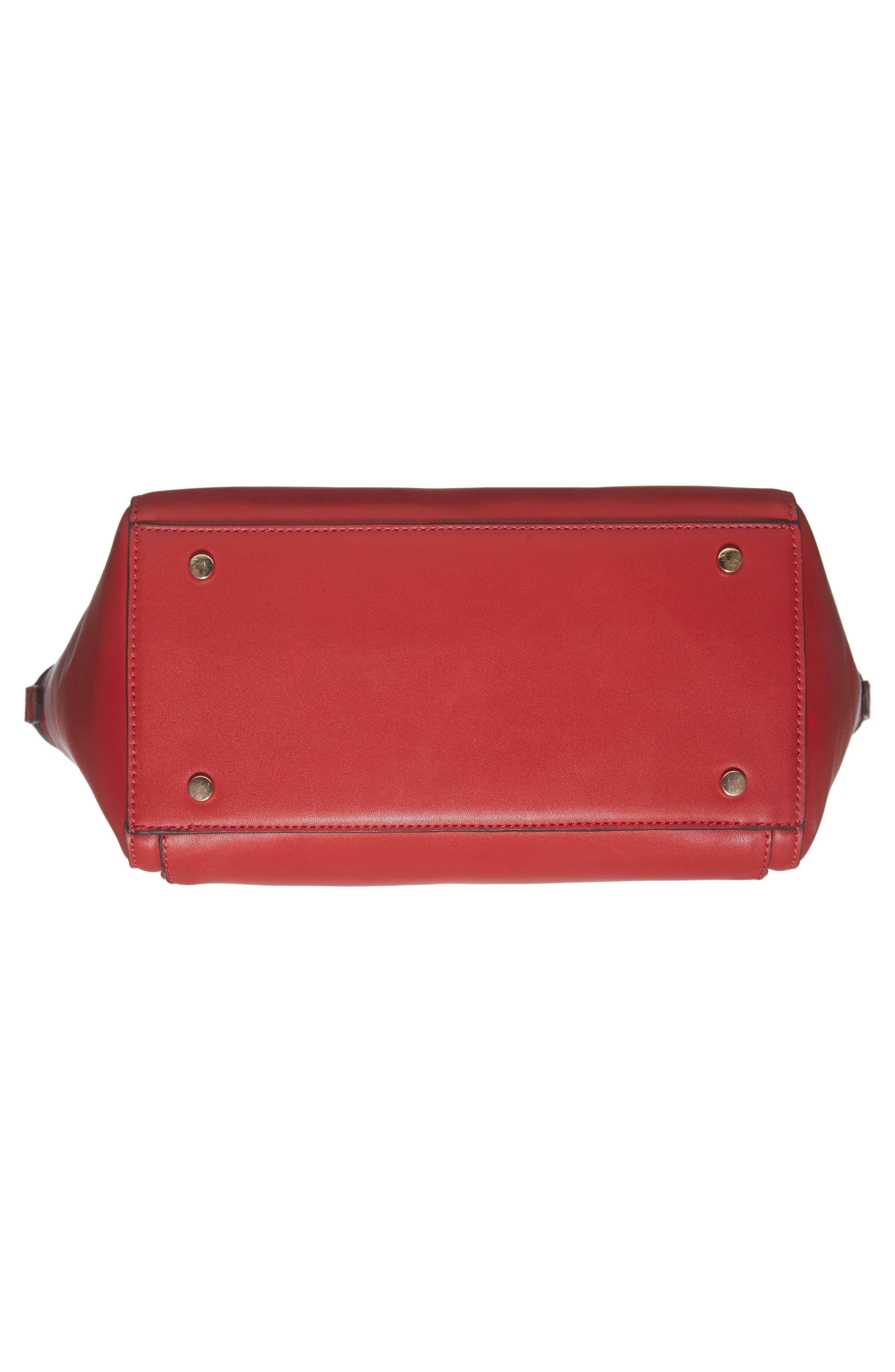 Alternate Image 6  - Sole Society Amada Faux Leather Satchel