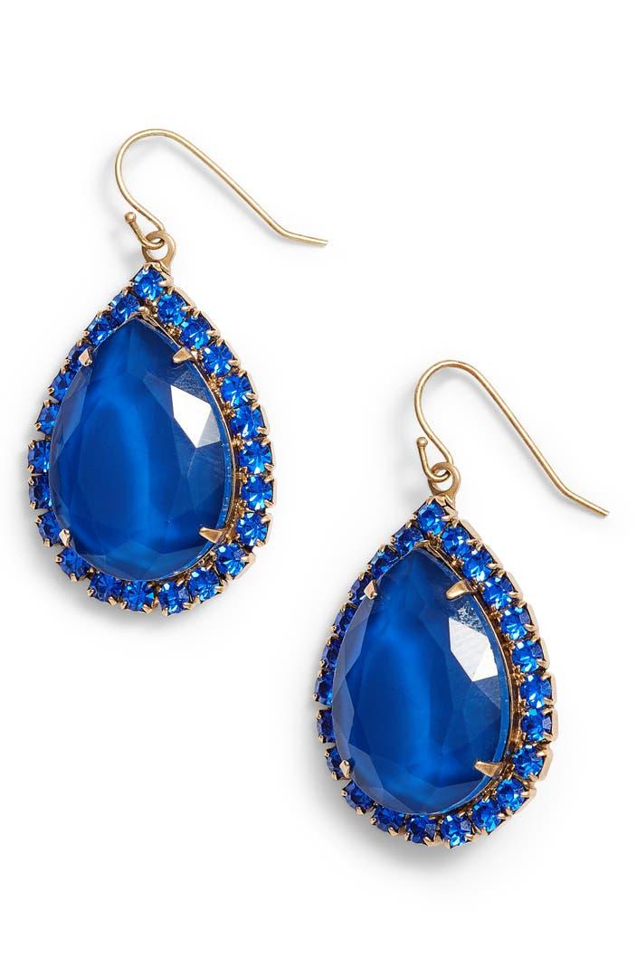 Loren hope krista crystal drop earrings nordstrom for Baby jewelry near me