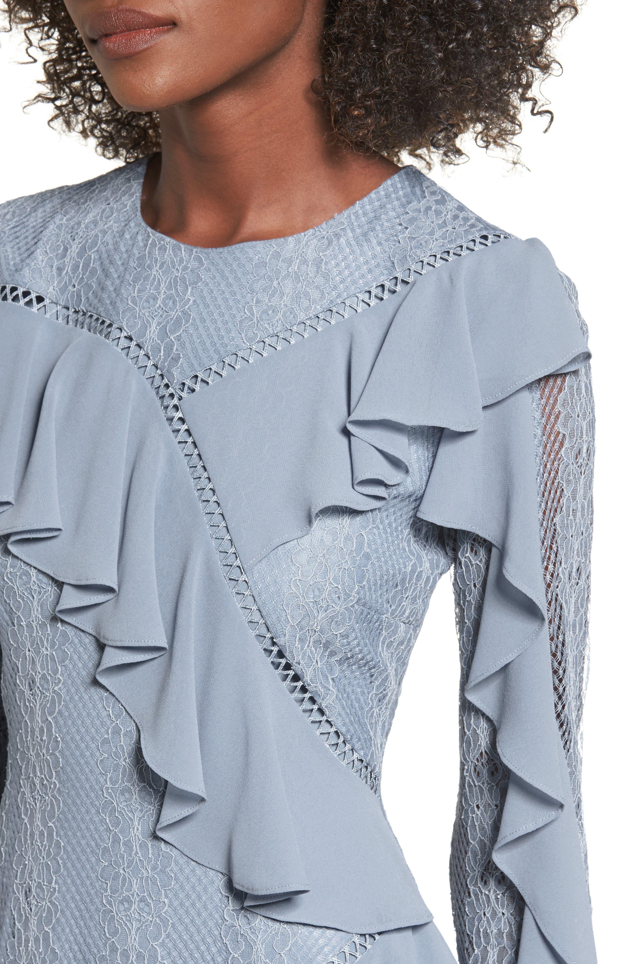 Alternate Image 5  - Keepsake the Label Better Days Lace Minidress