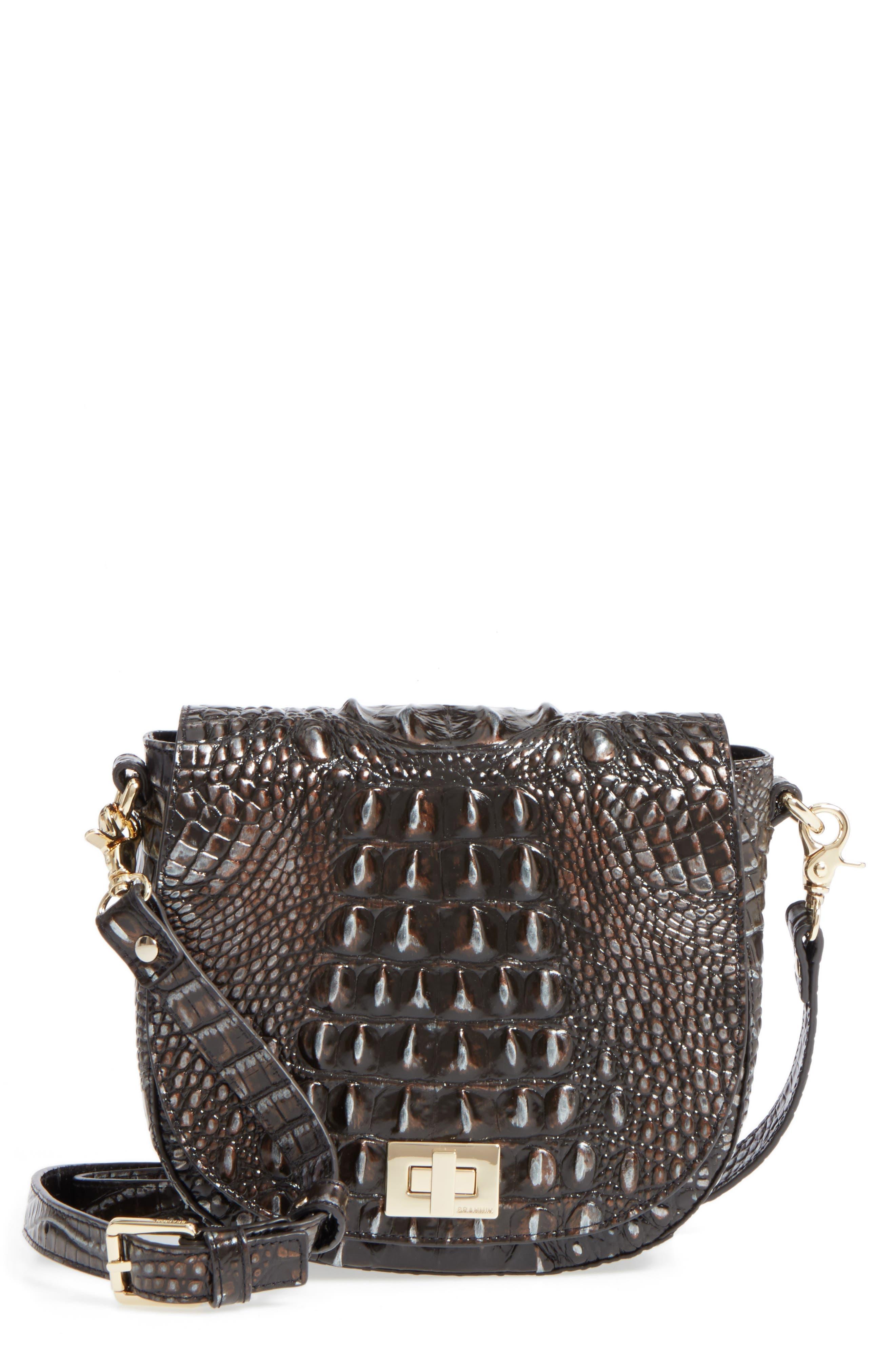 Alternate Image 1 Selected - Brahmin Mini Sonny Leather Crossbody Bag
