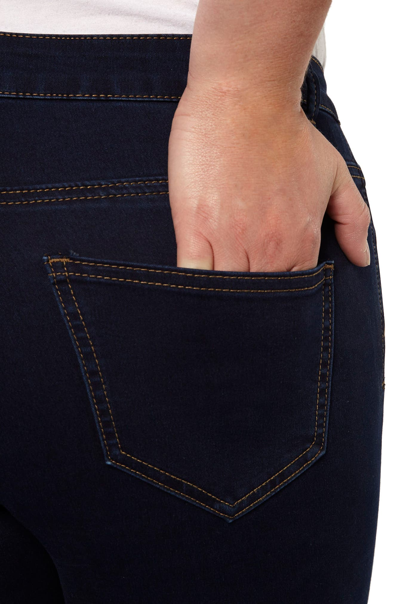 Stretch Skinny Jeans,                             Alternate thumbnail 2, color,                             Indigo