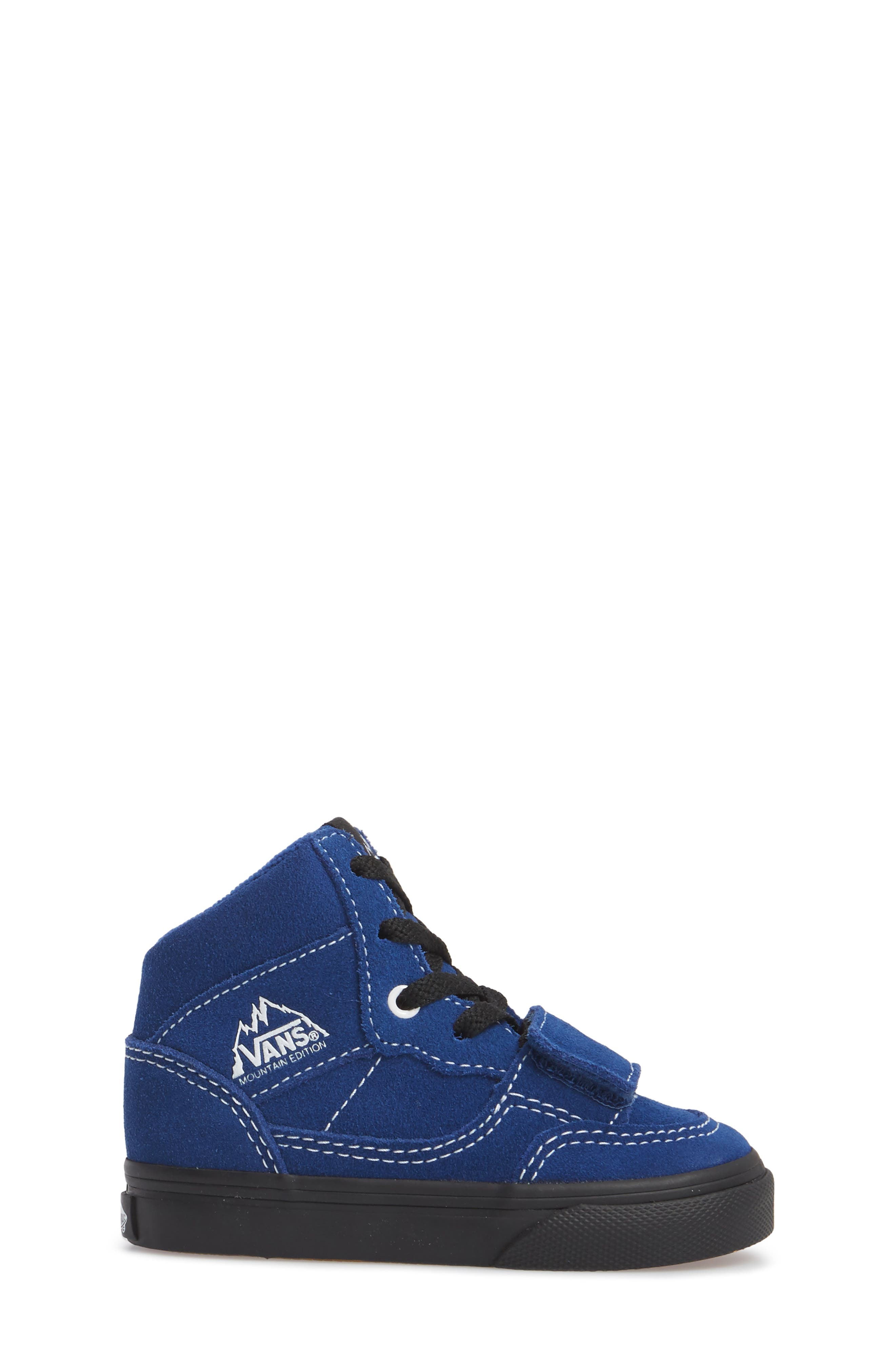 Mountain Edition Mid Top Sneaker,                             Alternate thumbnail 3, color,                             Blue/ Black
