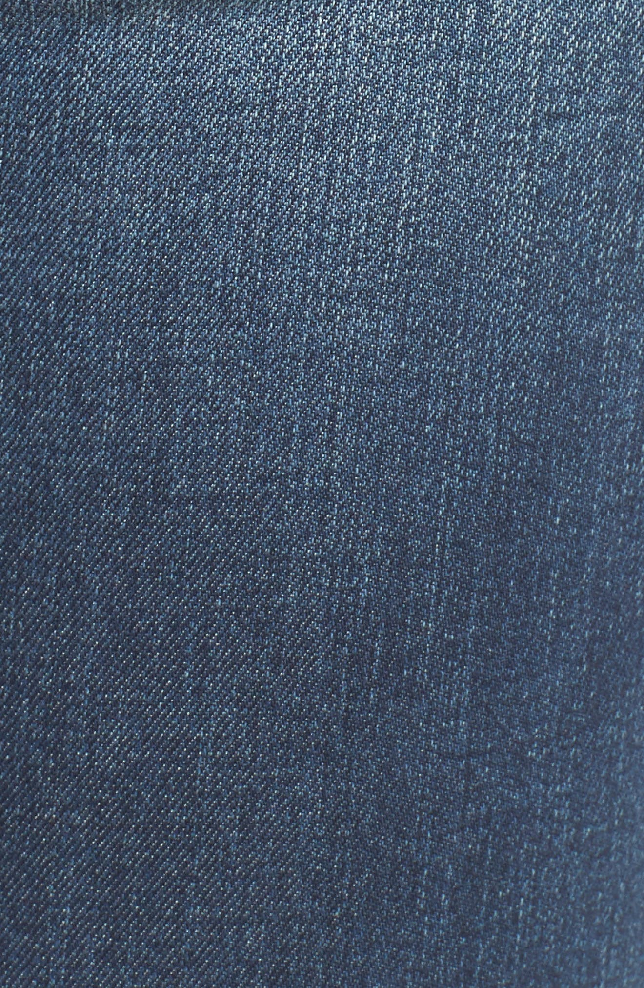 Sarah Shadow Pocket Distressed Skinny Jeans,                             Alternate thumbnail 6, color,                             Illusion