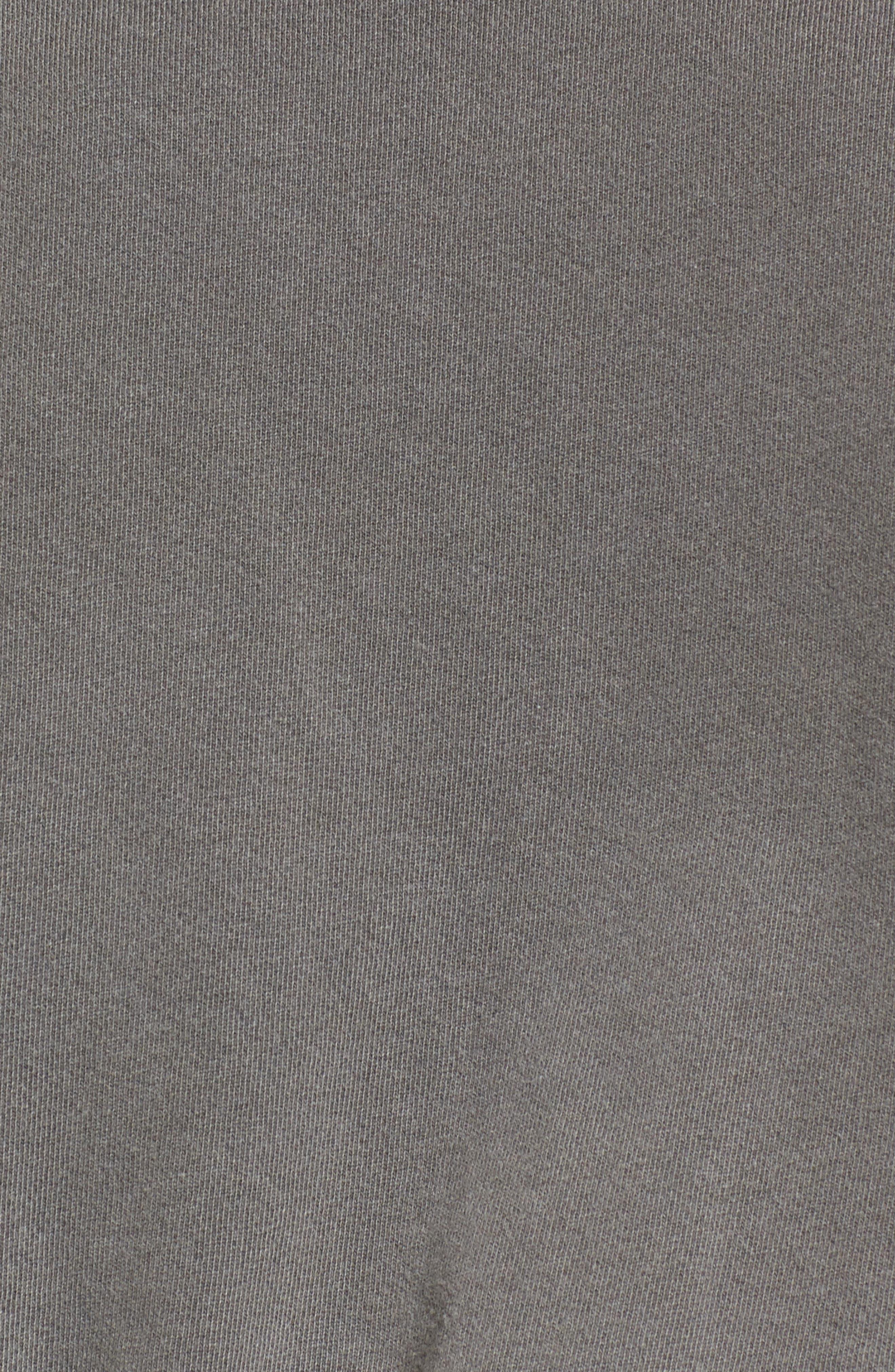 Alternate Image 5  - Stateside Crop Terry Sweatshirt