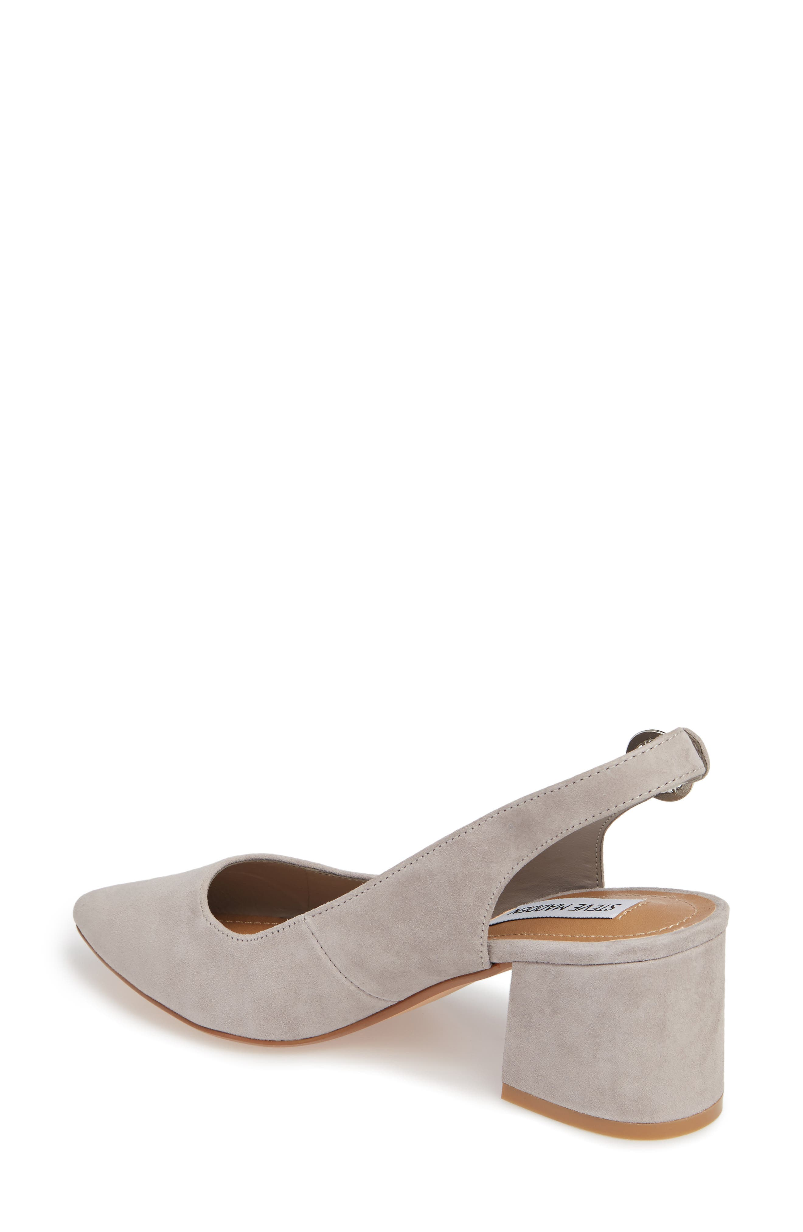 Dizzy Slingback Pump,                             Alternate thumbnail 2, color,                             Grey Suede