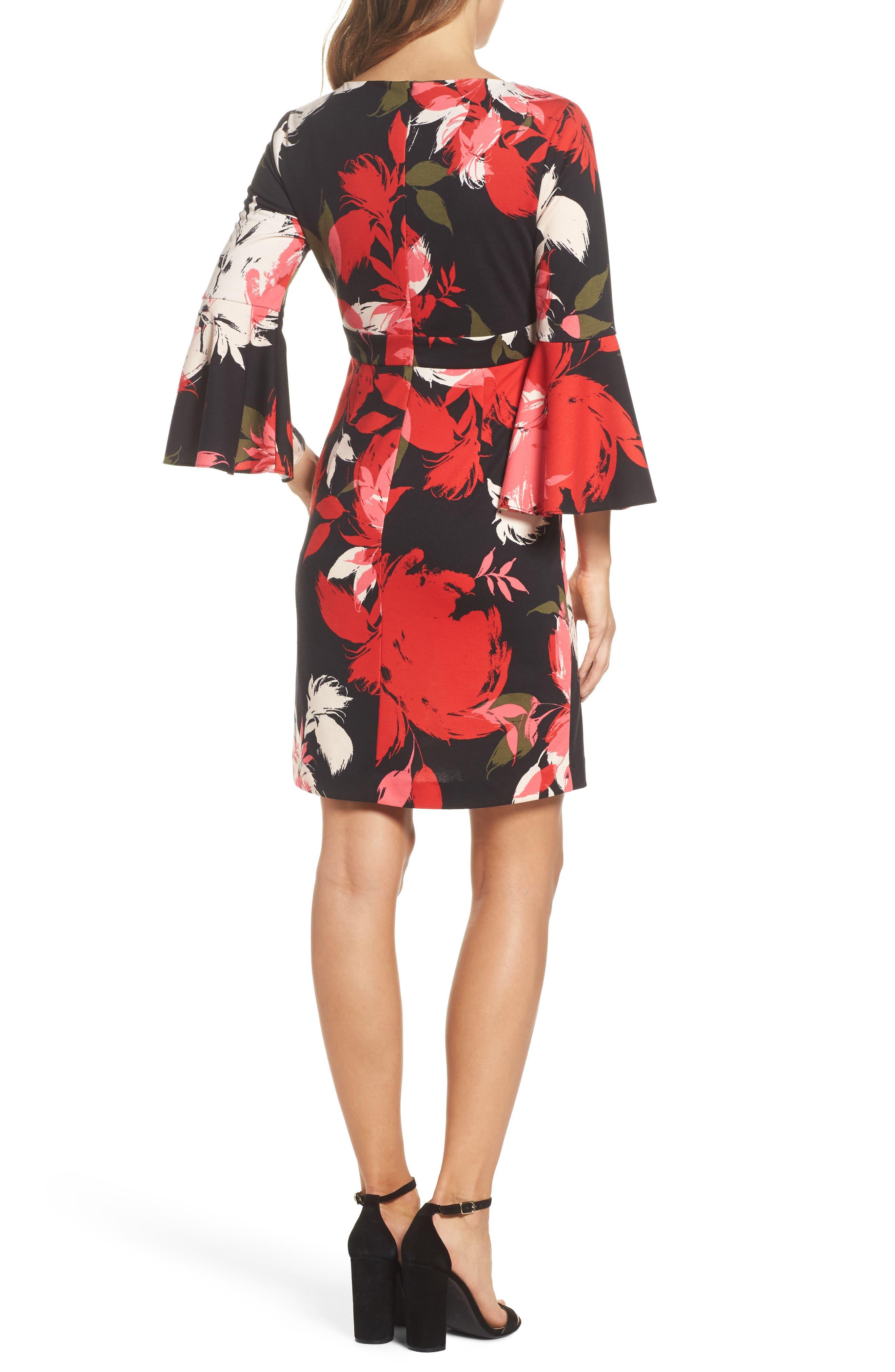 Sena A-Line Dress,                             Alternate thumbnail 2, color,                             Multi