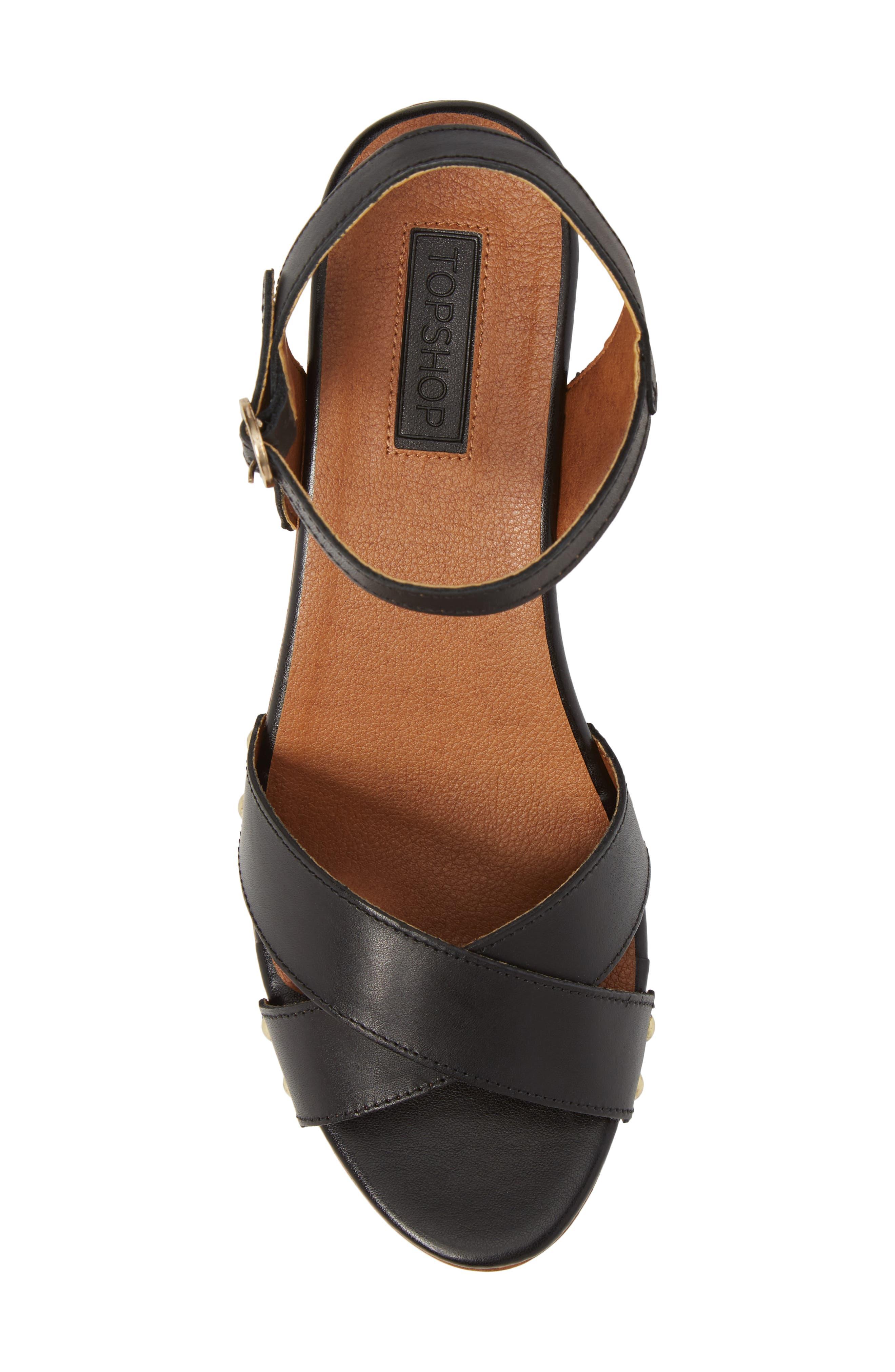 Alternate Image 5  - Topshop Valerie Platform Sandal (Women)
