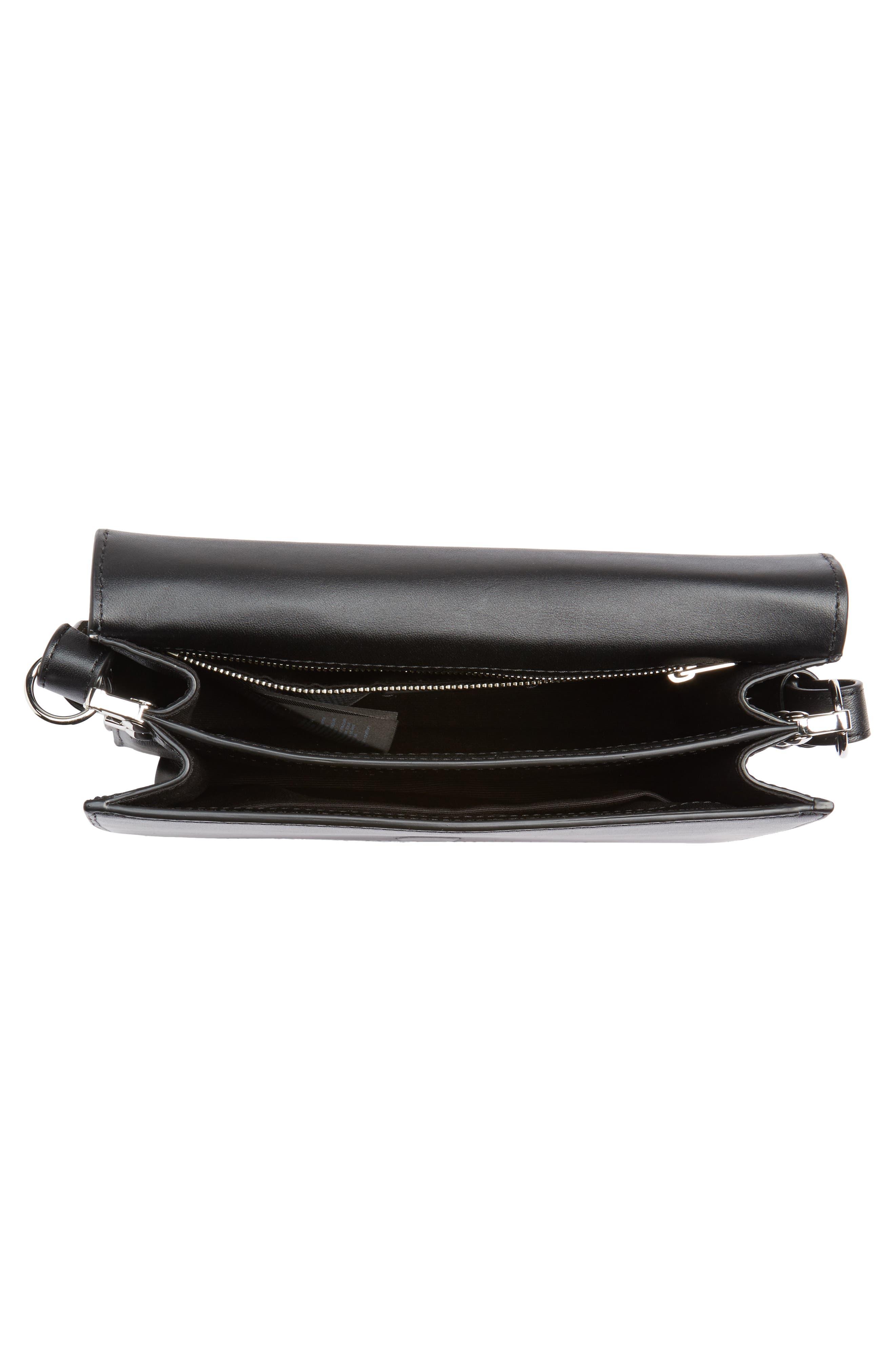 Alternate Image 5  - ALLSAINTS Keel Croc Embossed Leather Box Bag