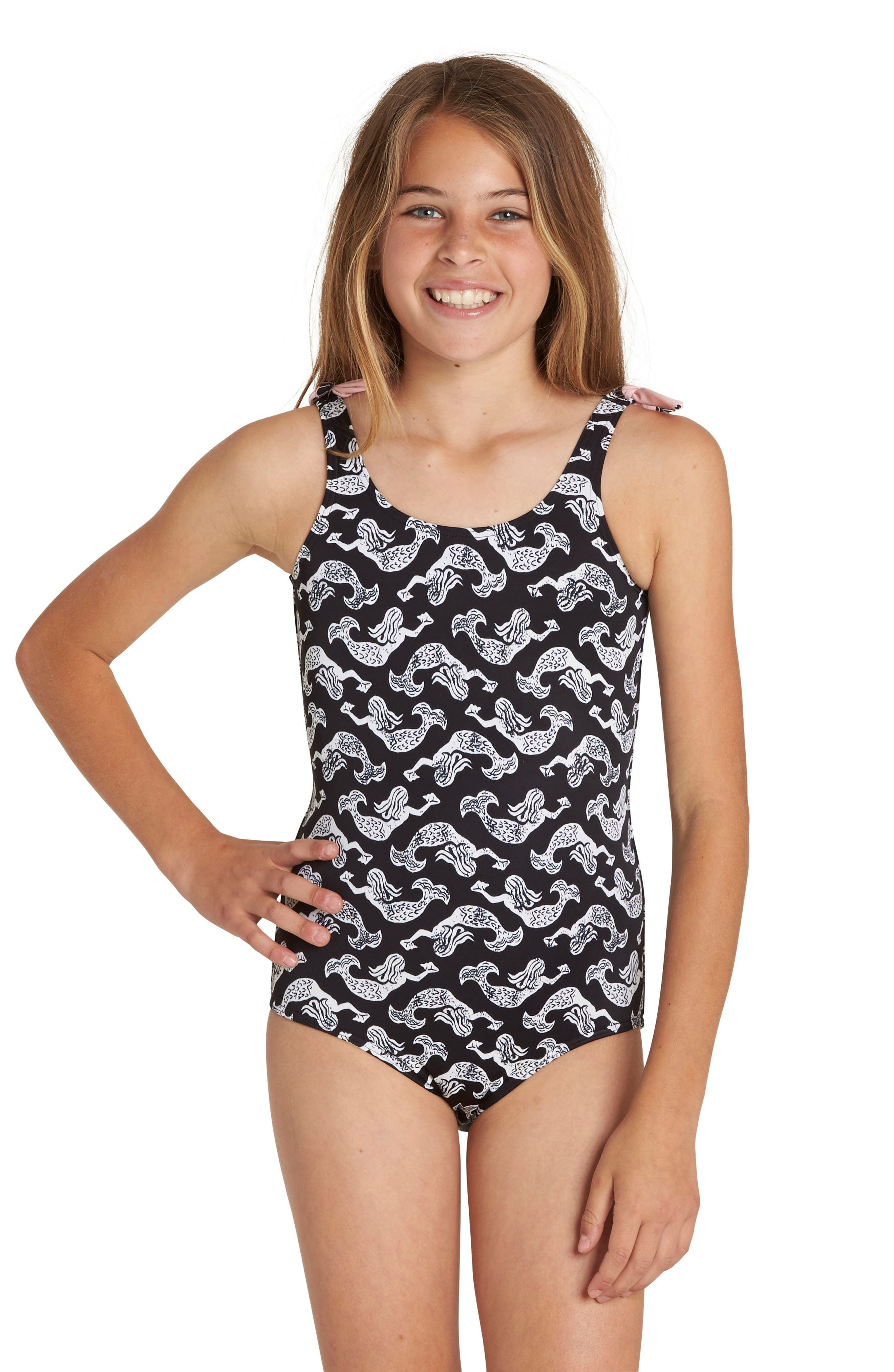Conch'd Out One-Piece Swimsuit,                         Main,                         color, Multi