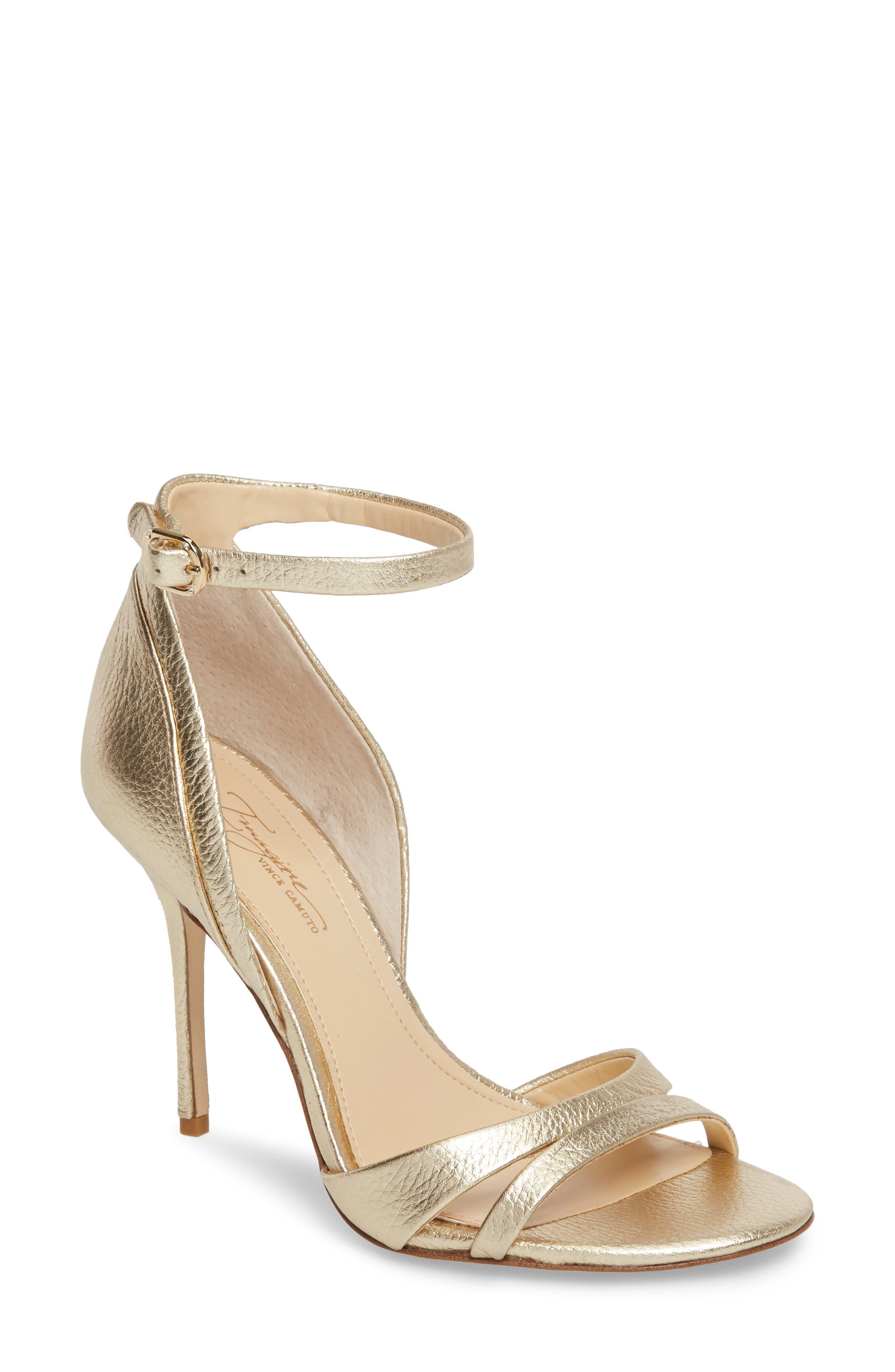 gold heels | Nordstrom