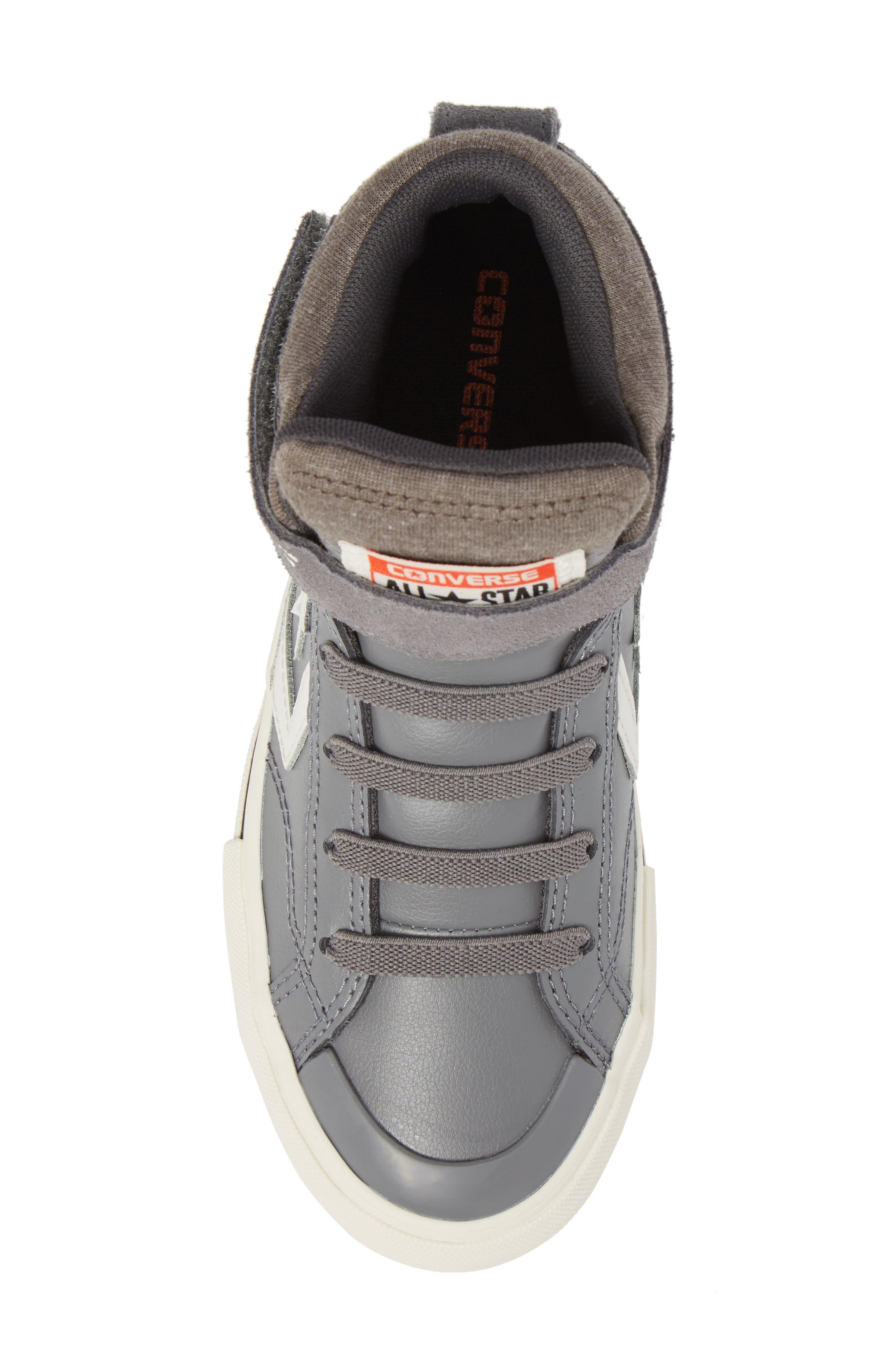 Pro Blaze High Top Sneaker,                             Alternate thumbnail 5, color,                             Mason Leather