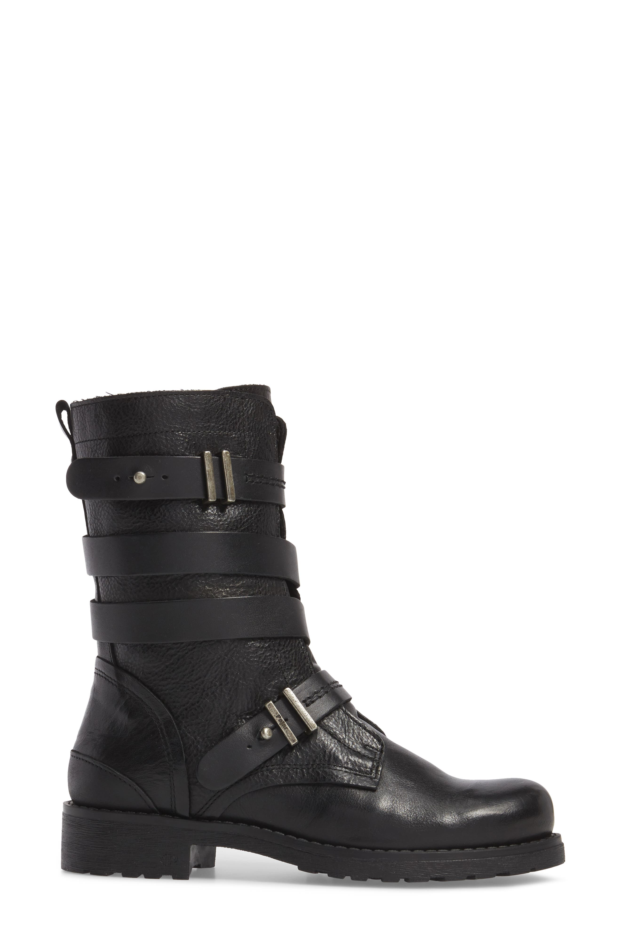 Alternate Image 3  - Pajar Latias Waterproof Moto Boot (Women)