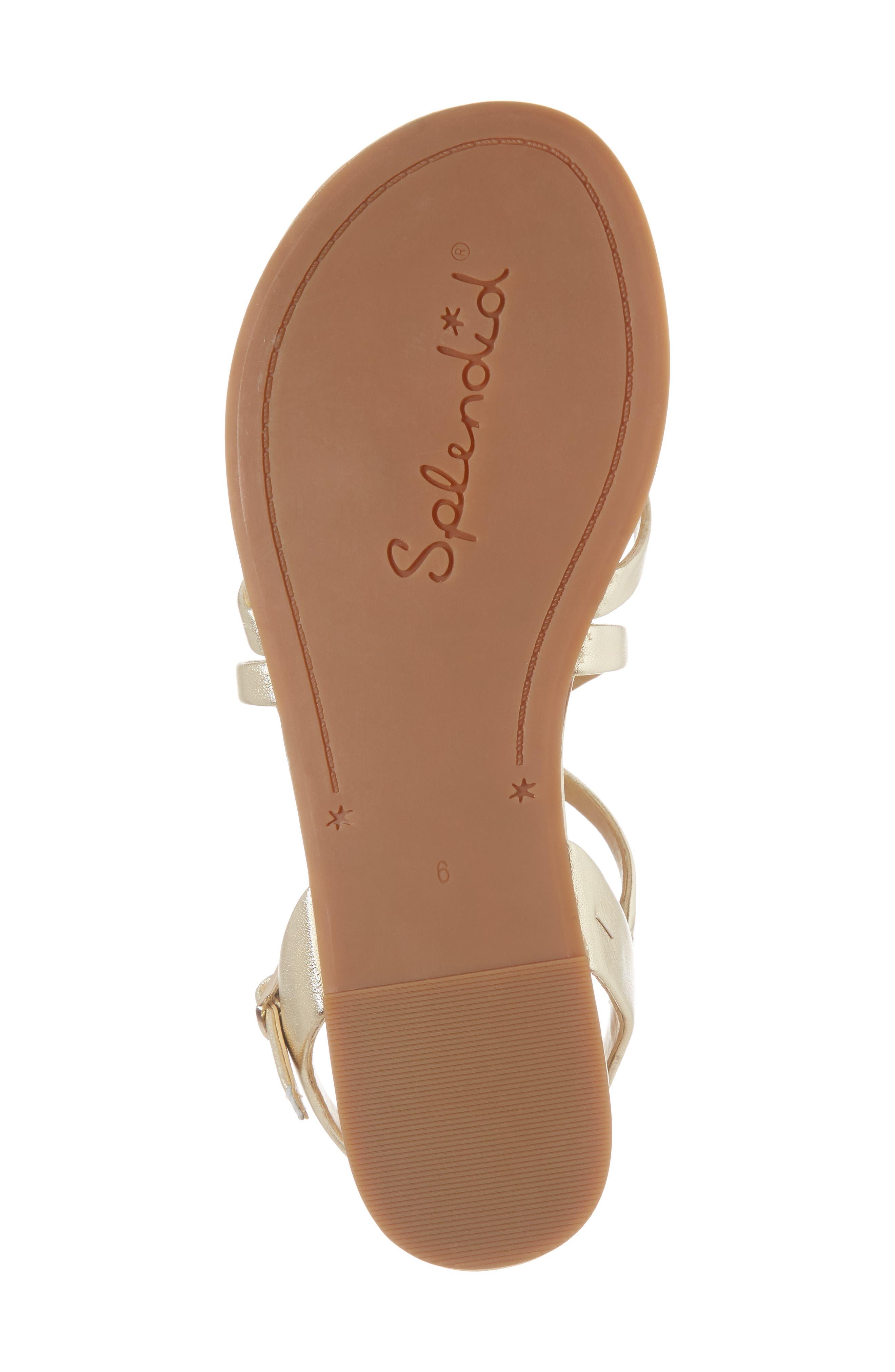 Alternate Image 6  - Splendid Brett Strappy Flat Sandal (Women)