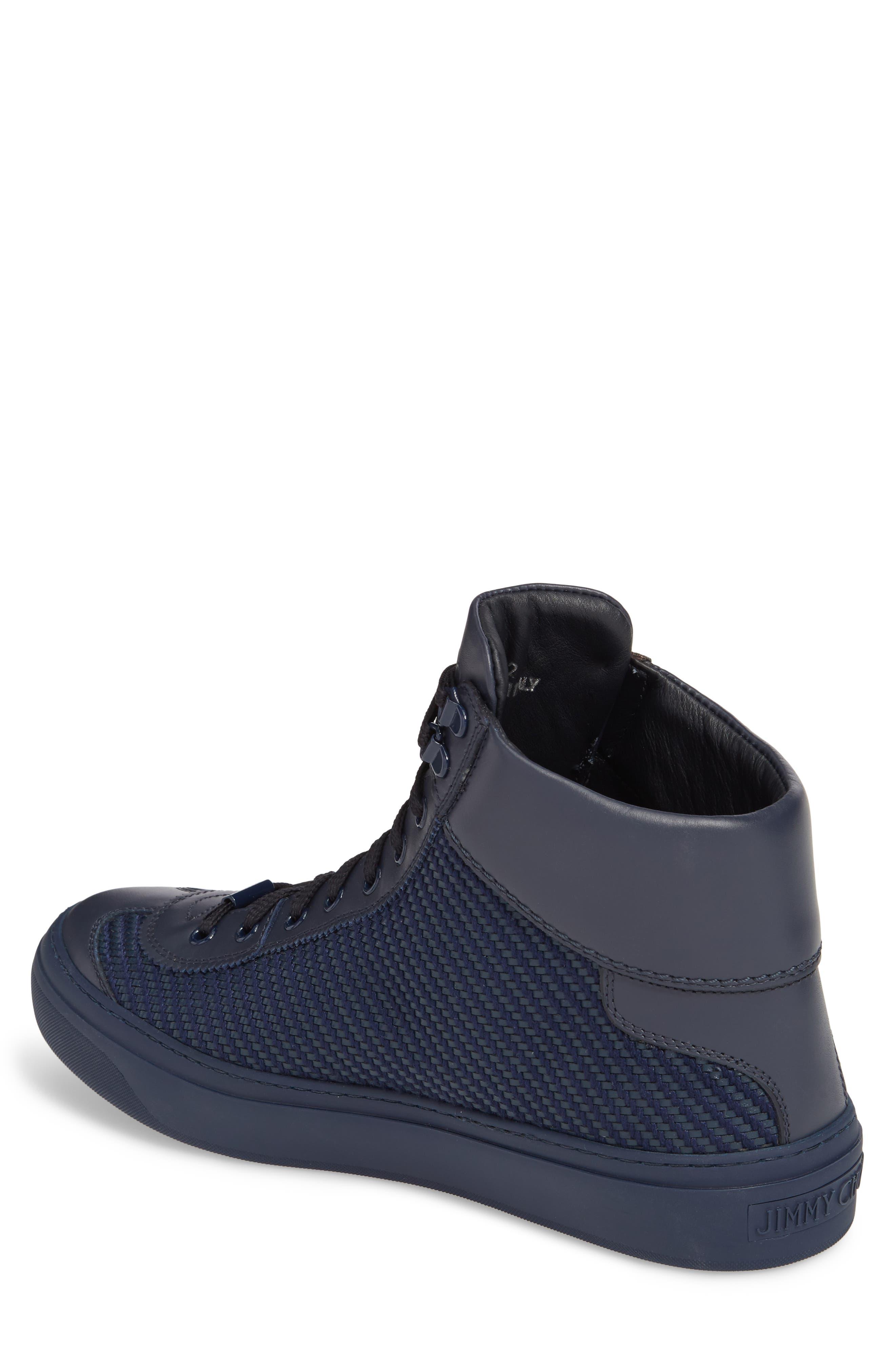 Argyle Sneaker,                             Alternate thumbnail 2, color,                             Navy