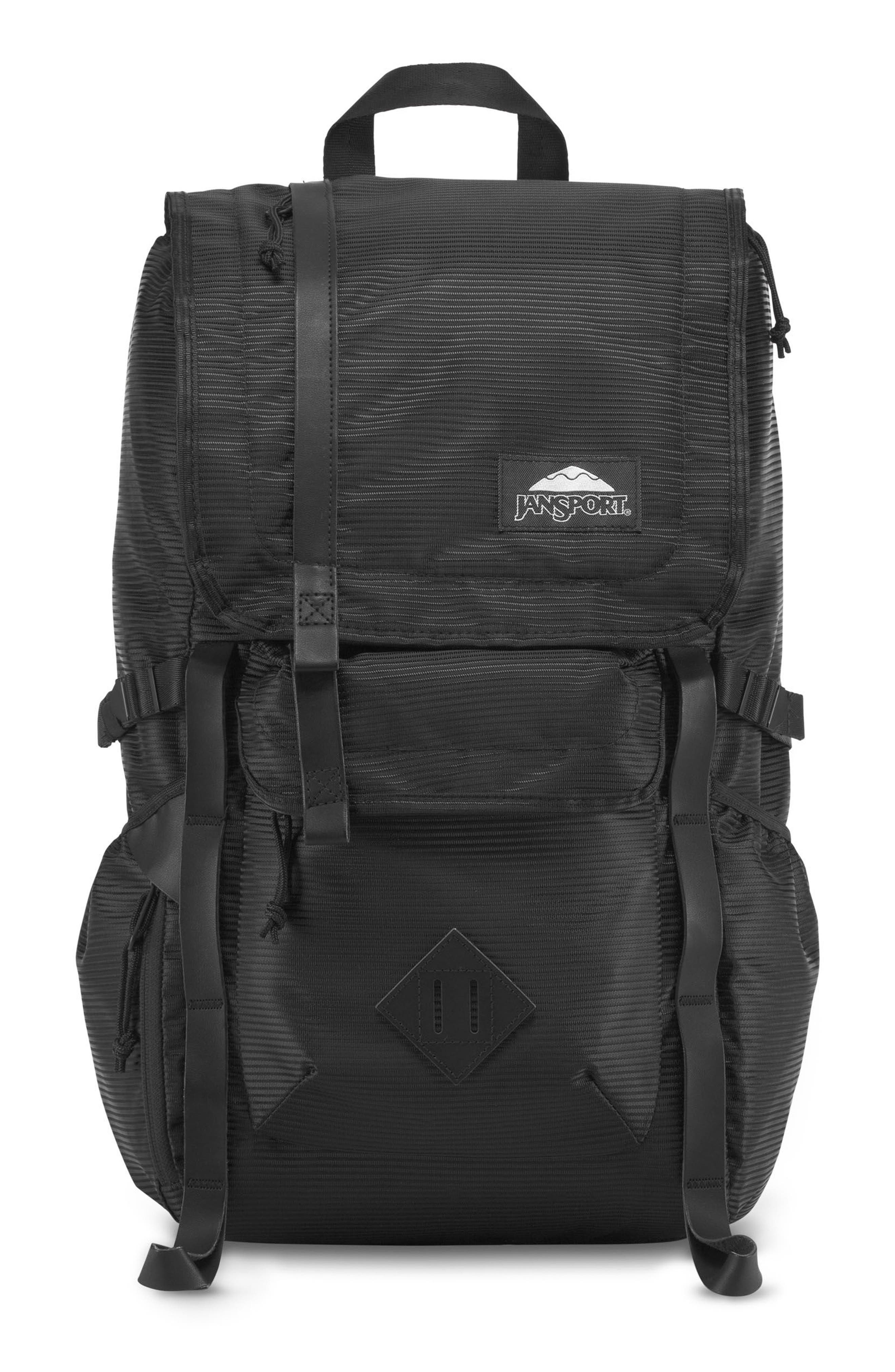 Hatchet DL Backpack,                         Main,                         color, Black Line