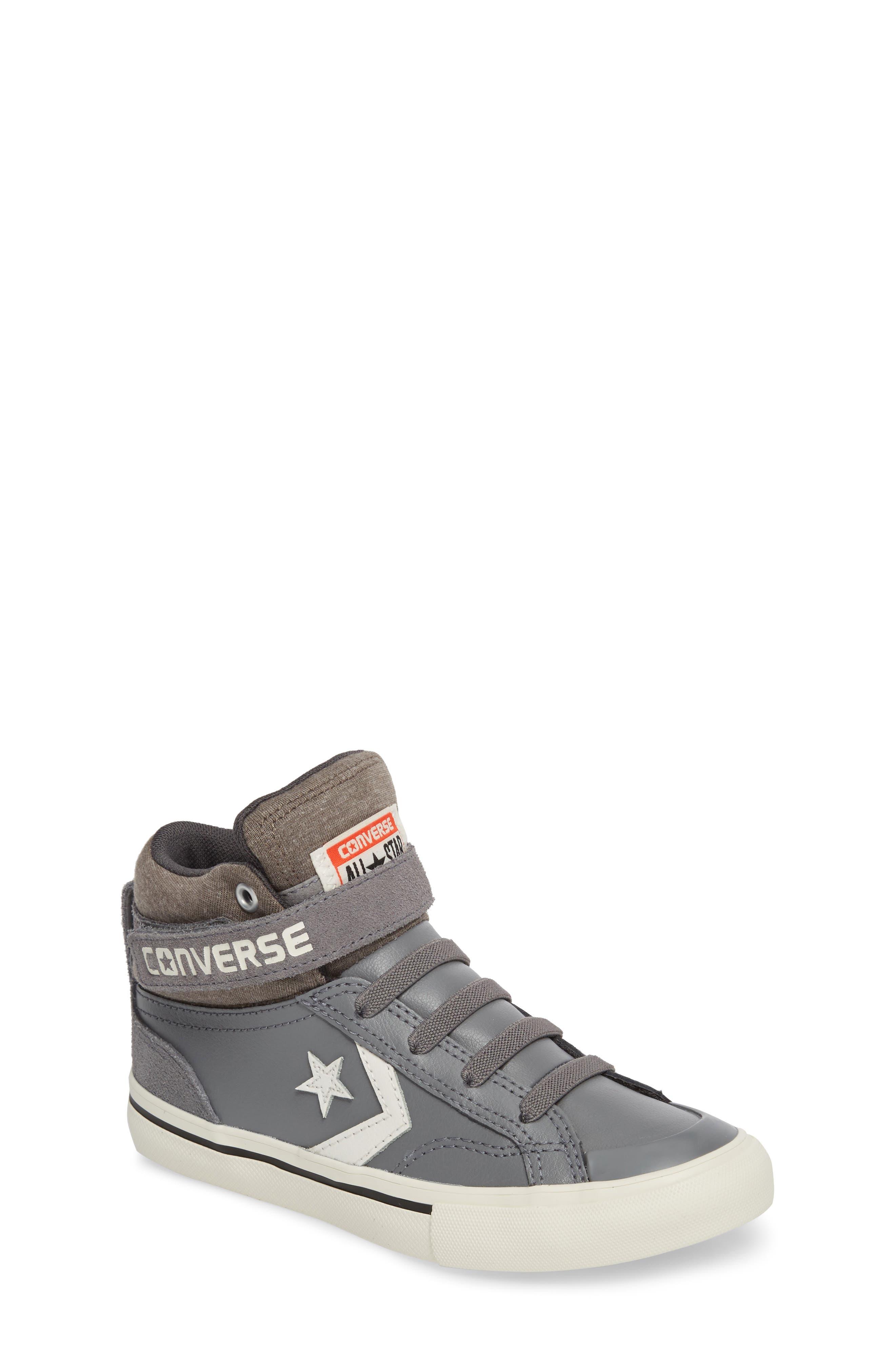 Pro Blaze High Top Sneaker,                             Main thumbnail 1, color,                             Mason Leather