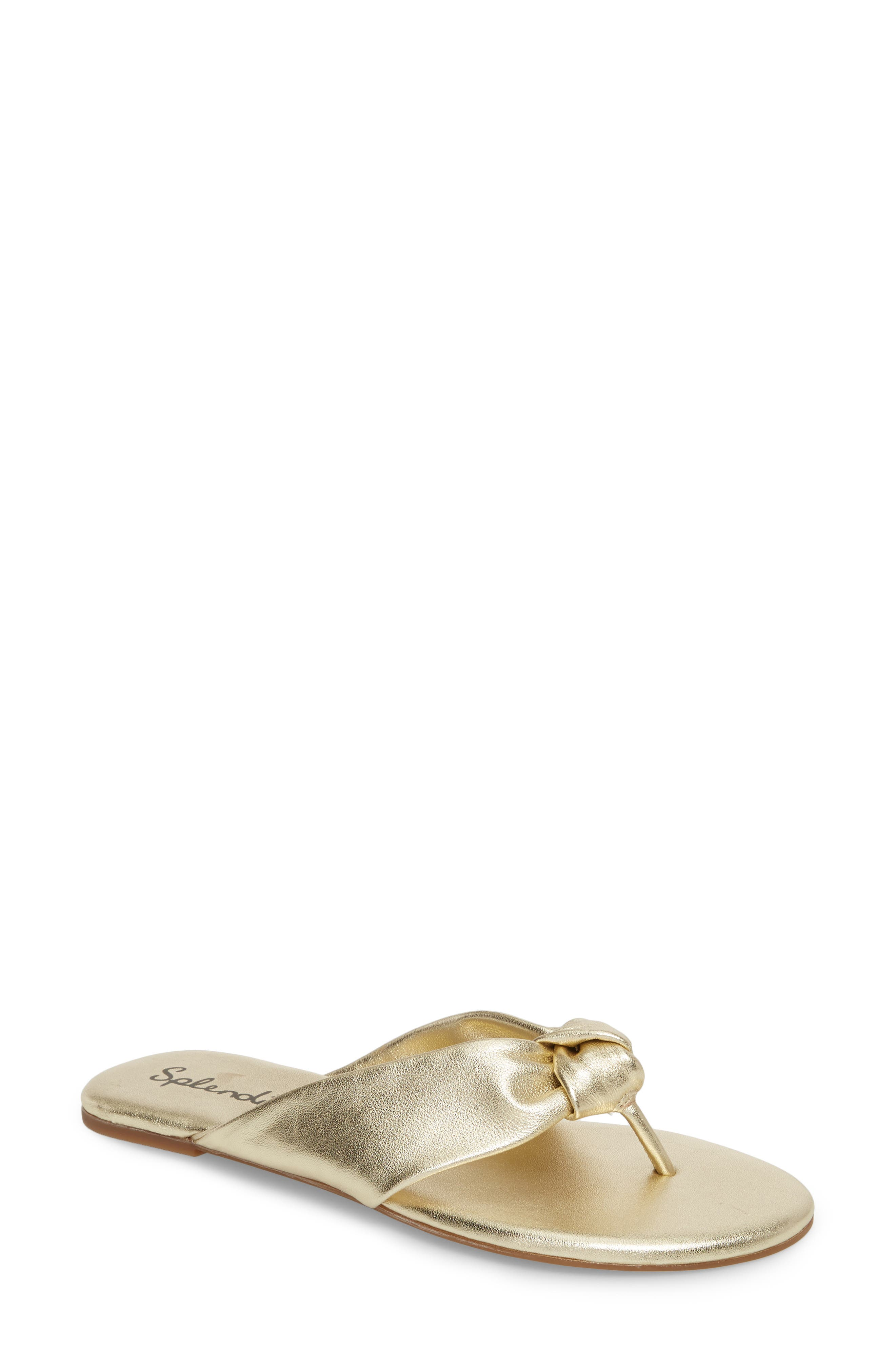 Main Image - Splendid Bridgette Knotted Flip Flop (Women)