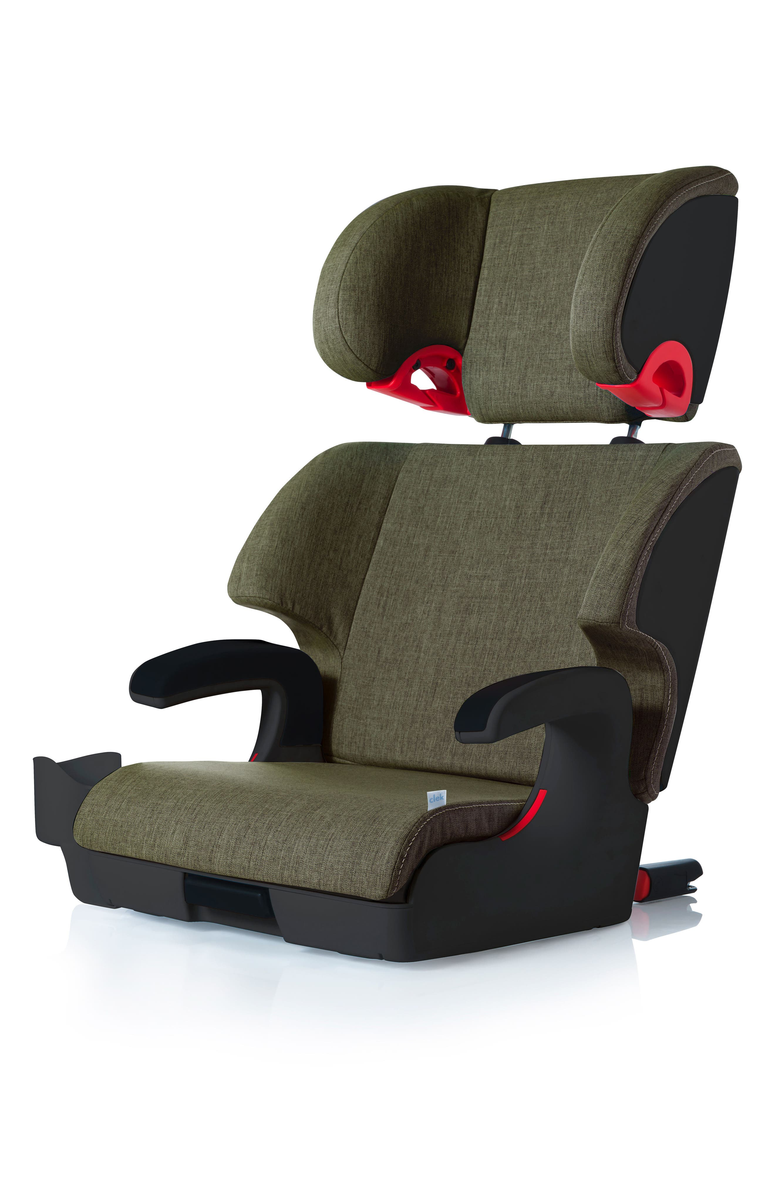 Oobr Convertible Full Back/Backless Booster Seat,                         Main,                         color, Woodlands