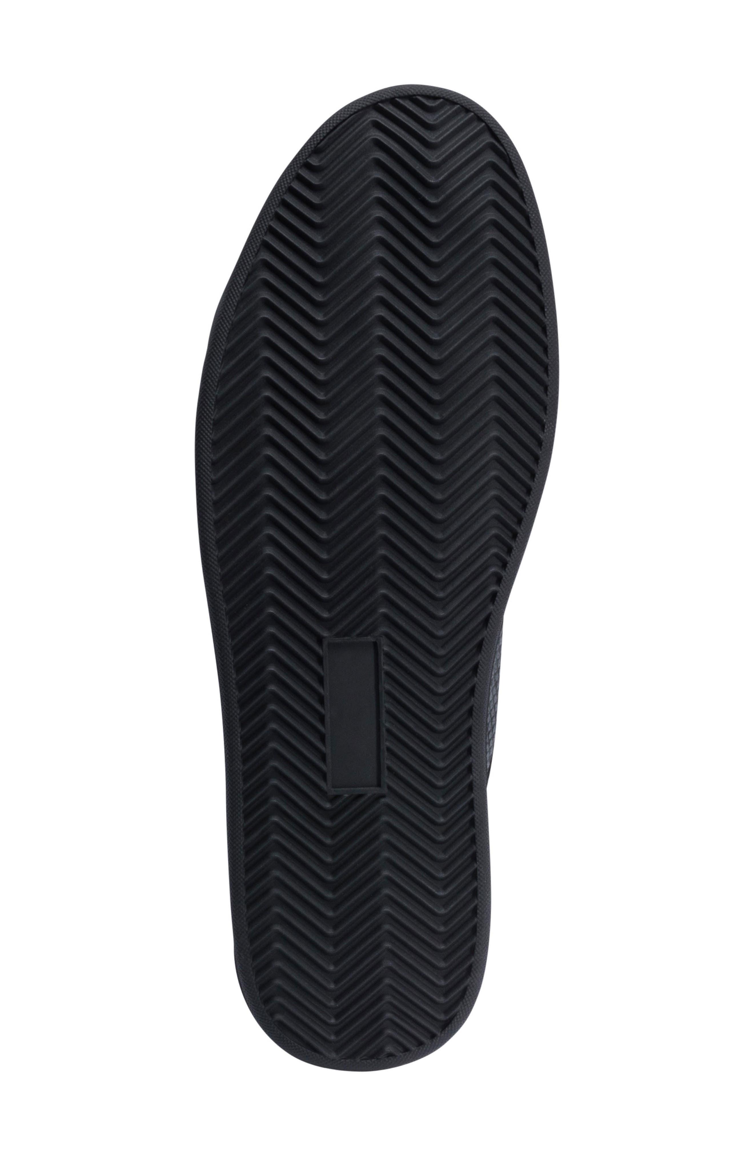 Ischia Sneaker,                             Alternate thumbnail 6, color,                             Black