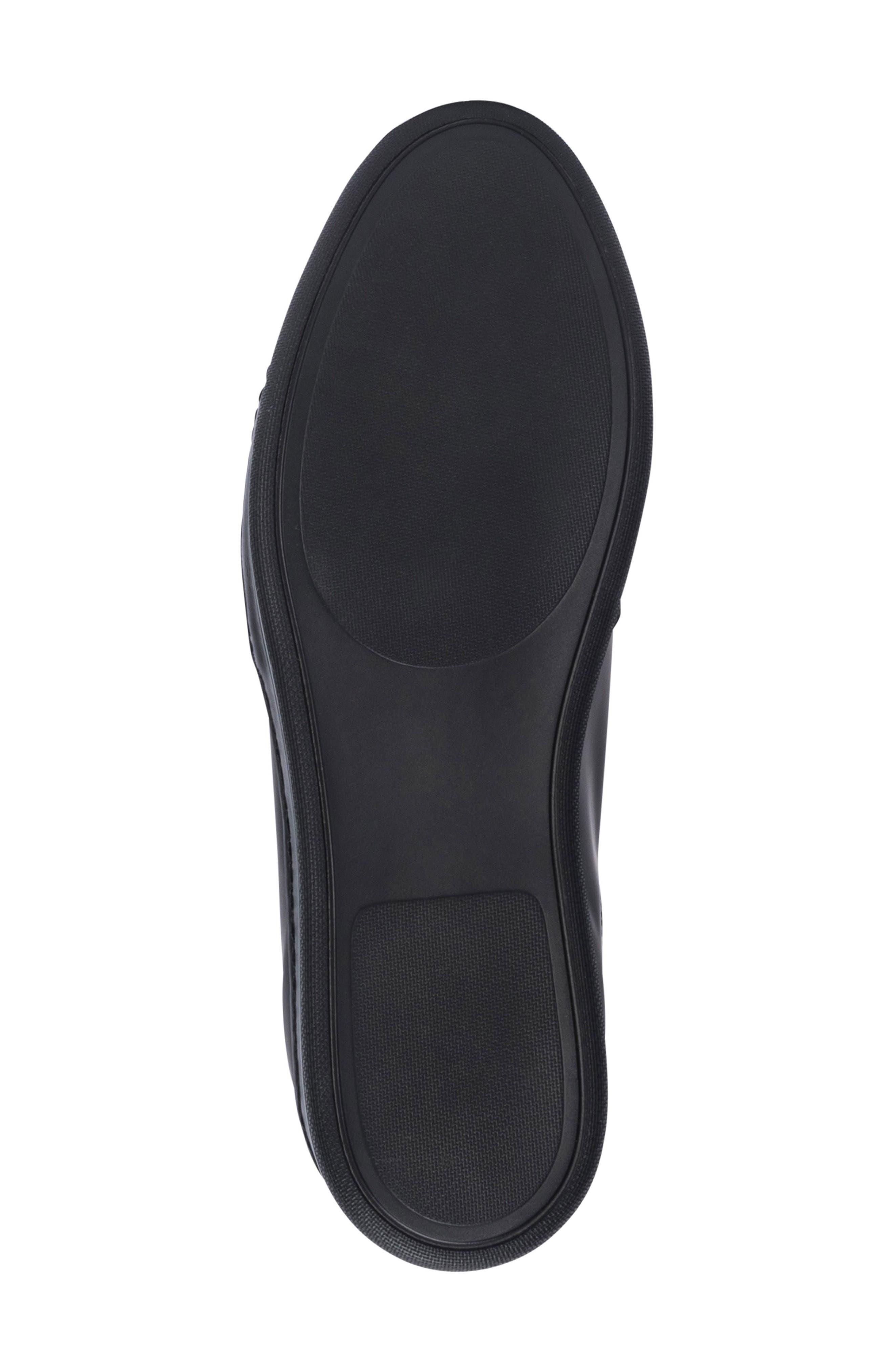 Bellagio Sneaker,                             Alternate thumbnail 6, color,                             Black
