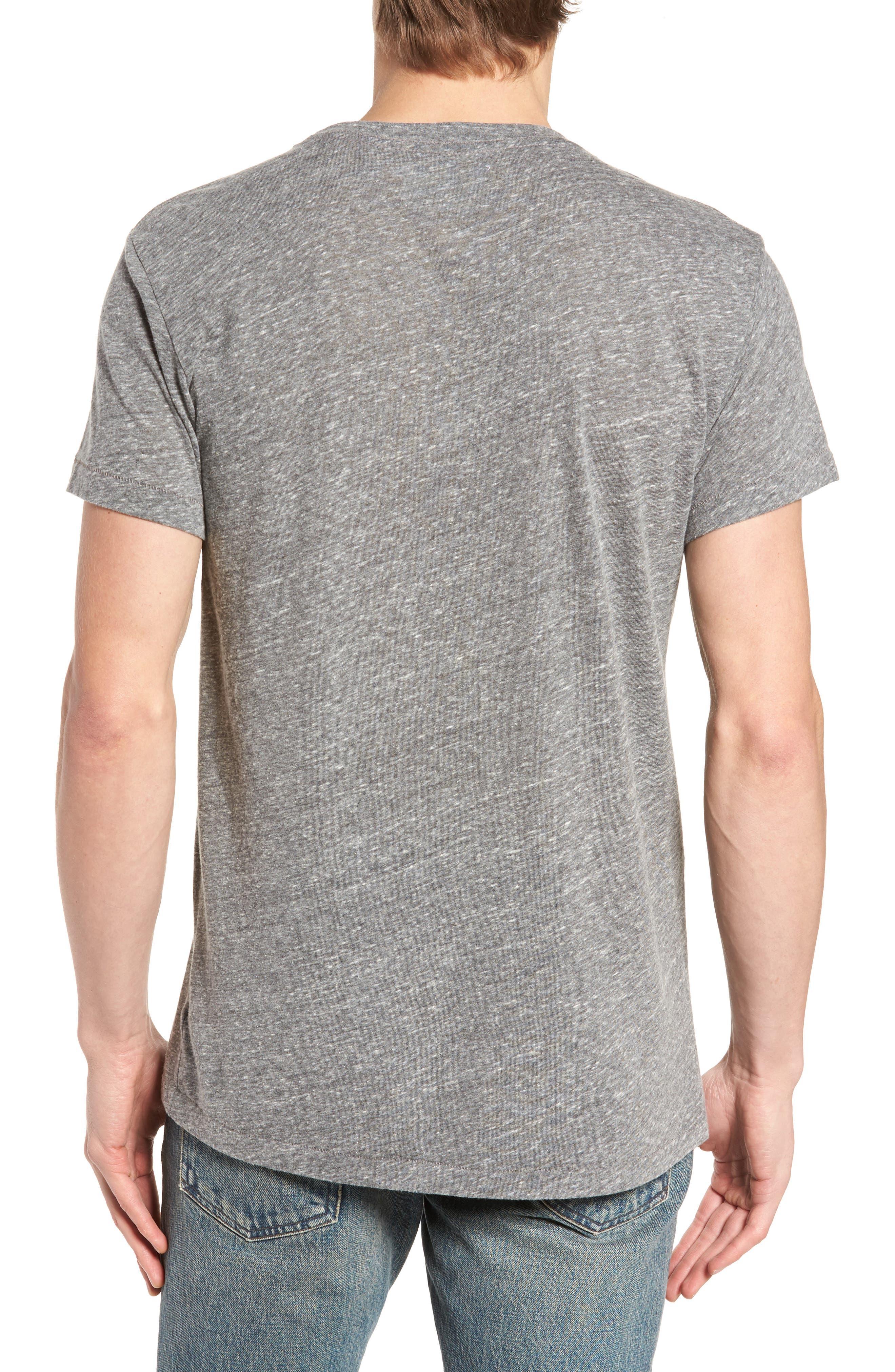 Las Palmas T-Shirt,                             Alternate thumbnail 2, color,                             Heather Grey