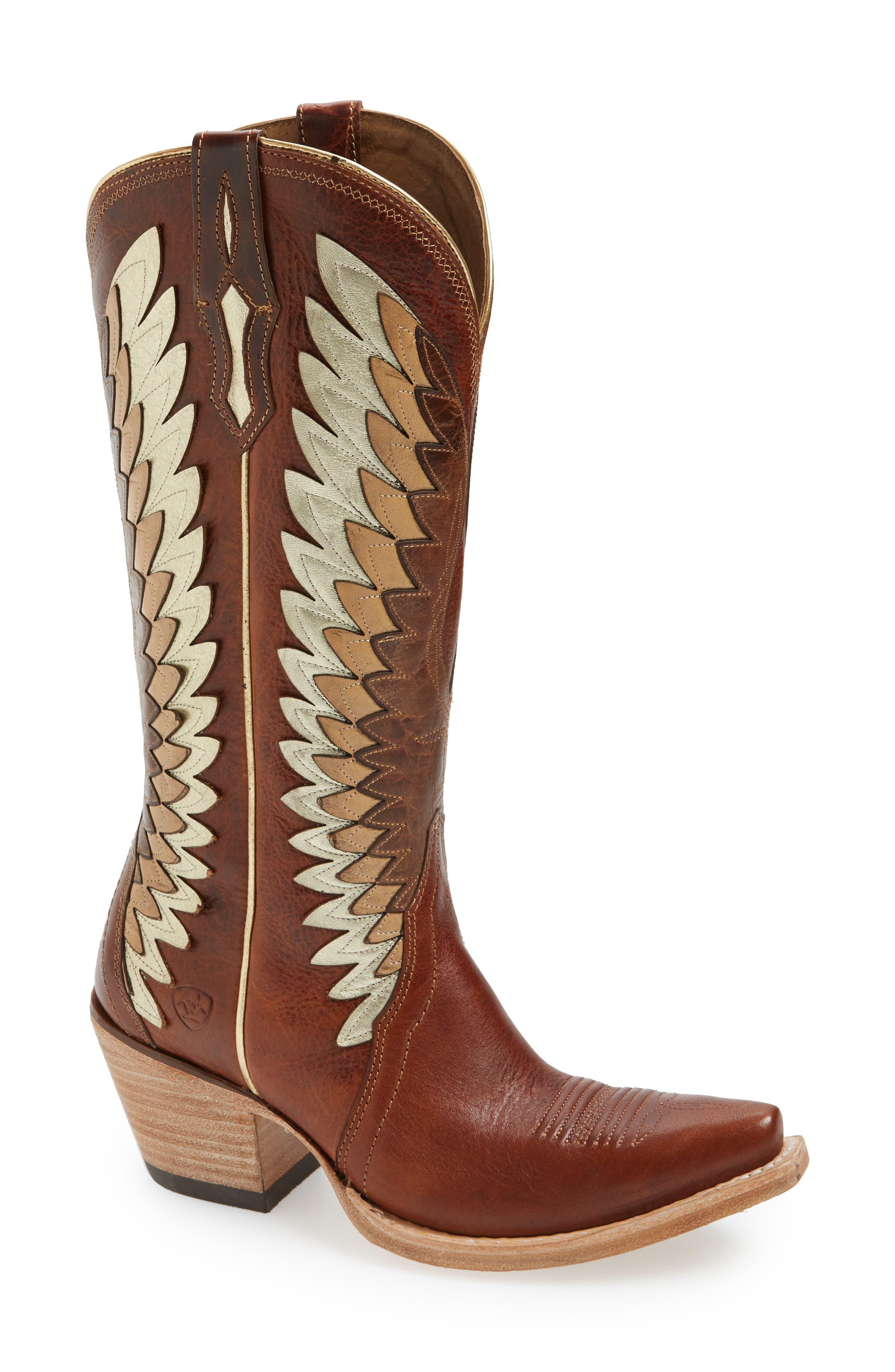 Alternate Image 1 Selected - Ariat Goldcrest Western Boot (Women)
