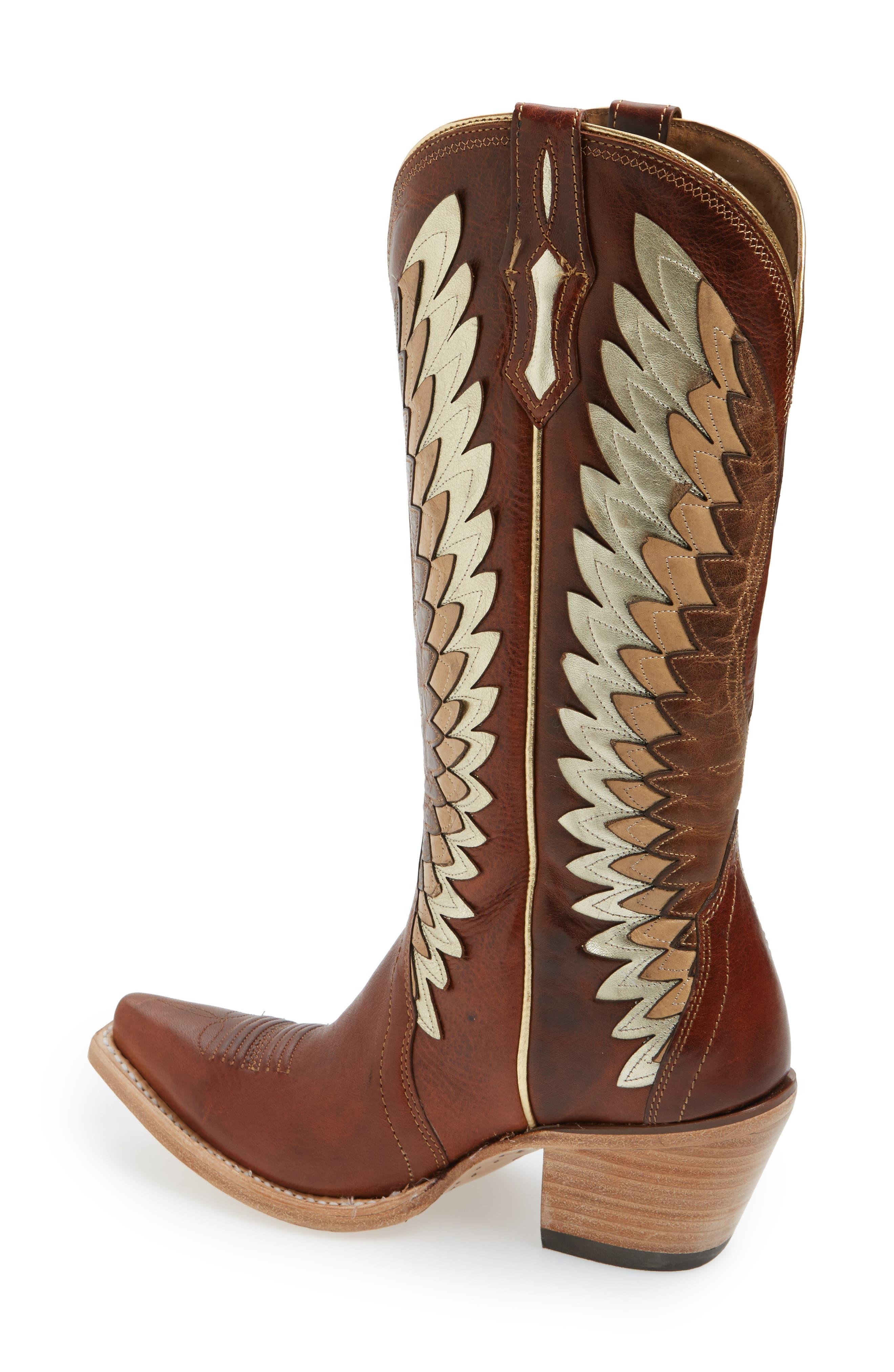 Alternate Image 2  - Ariat Goldcrest Western Boot (Women)