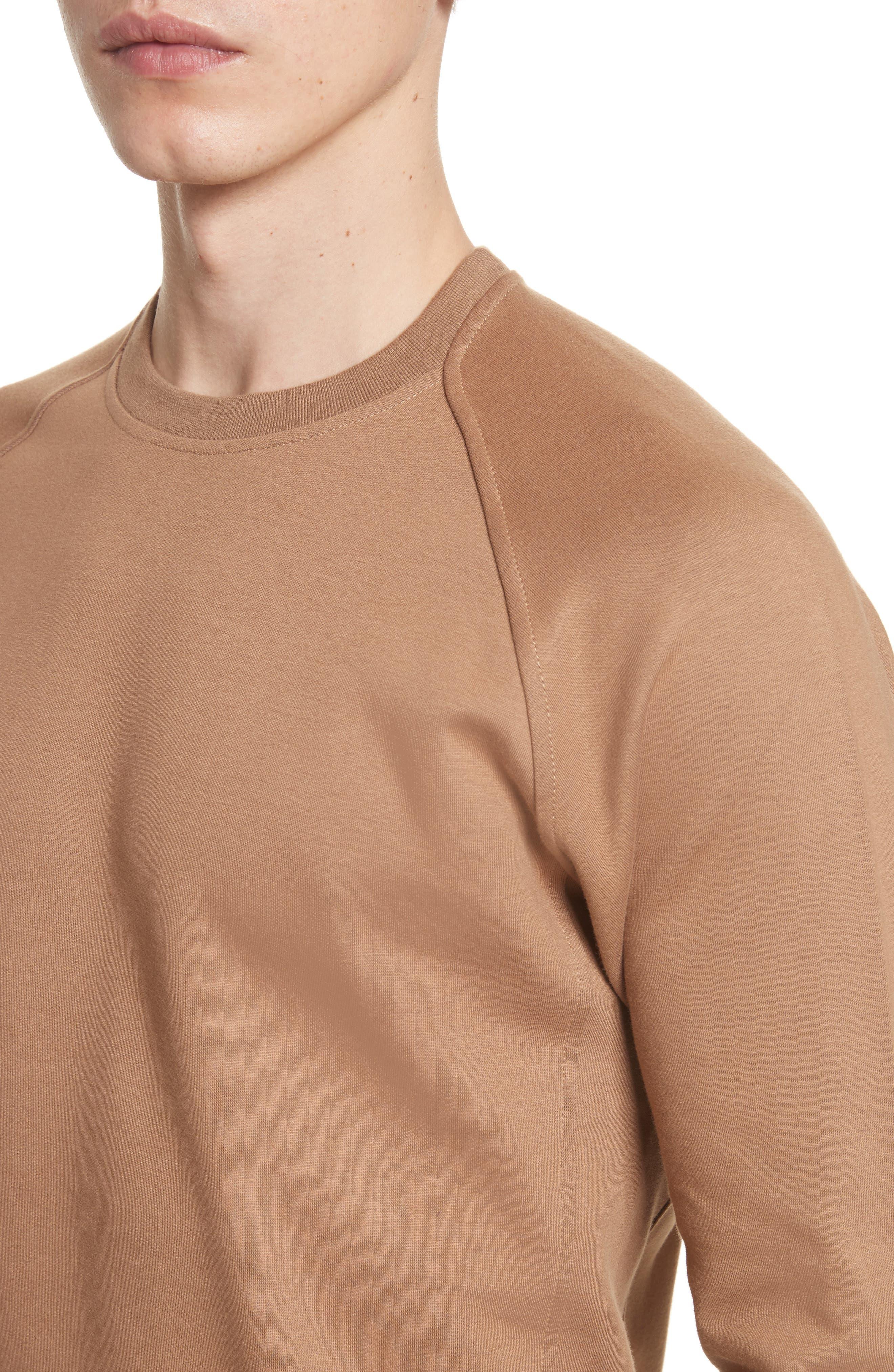 Ketel Dry Mercerized Crewneck Sweatshirt,                             Alternate thumbnail 4, color,                             Light Sand