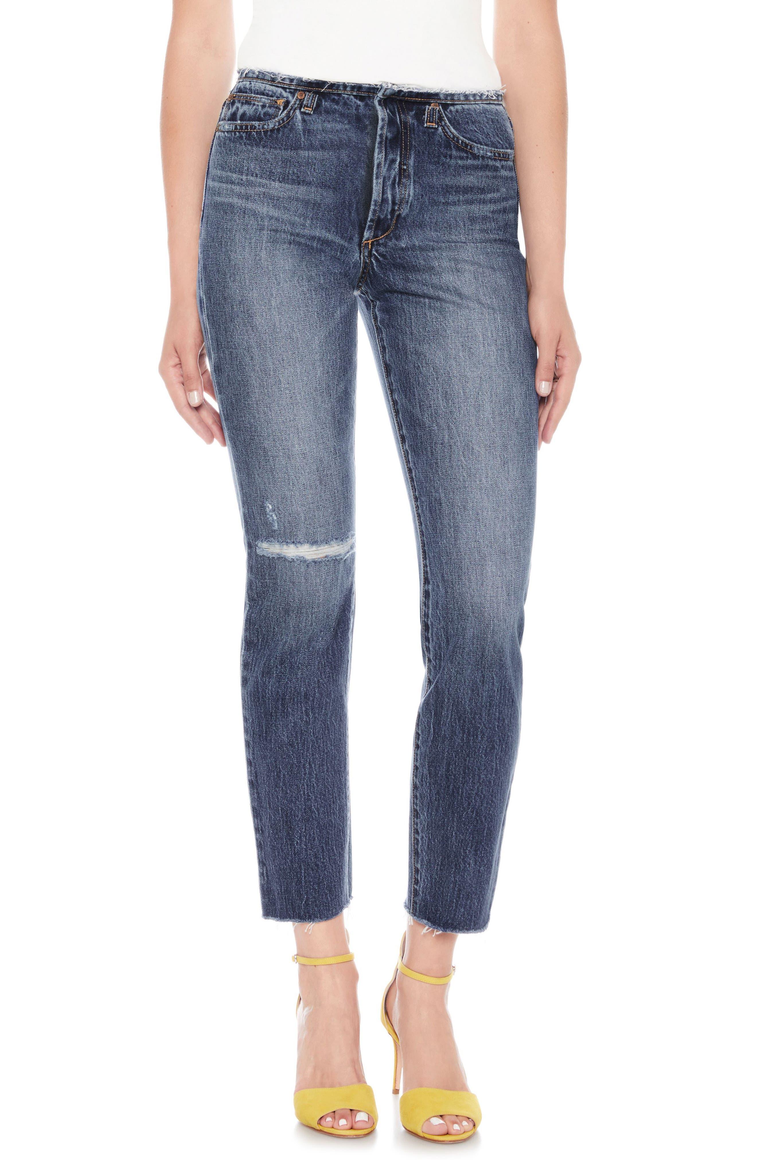 Kass Ankle Boyfriend Jeans,                             Main thumbnail 1, color,                             Dyanna