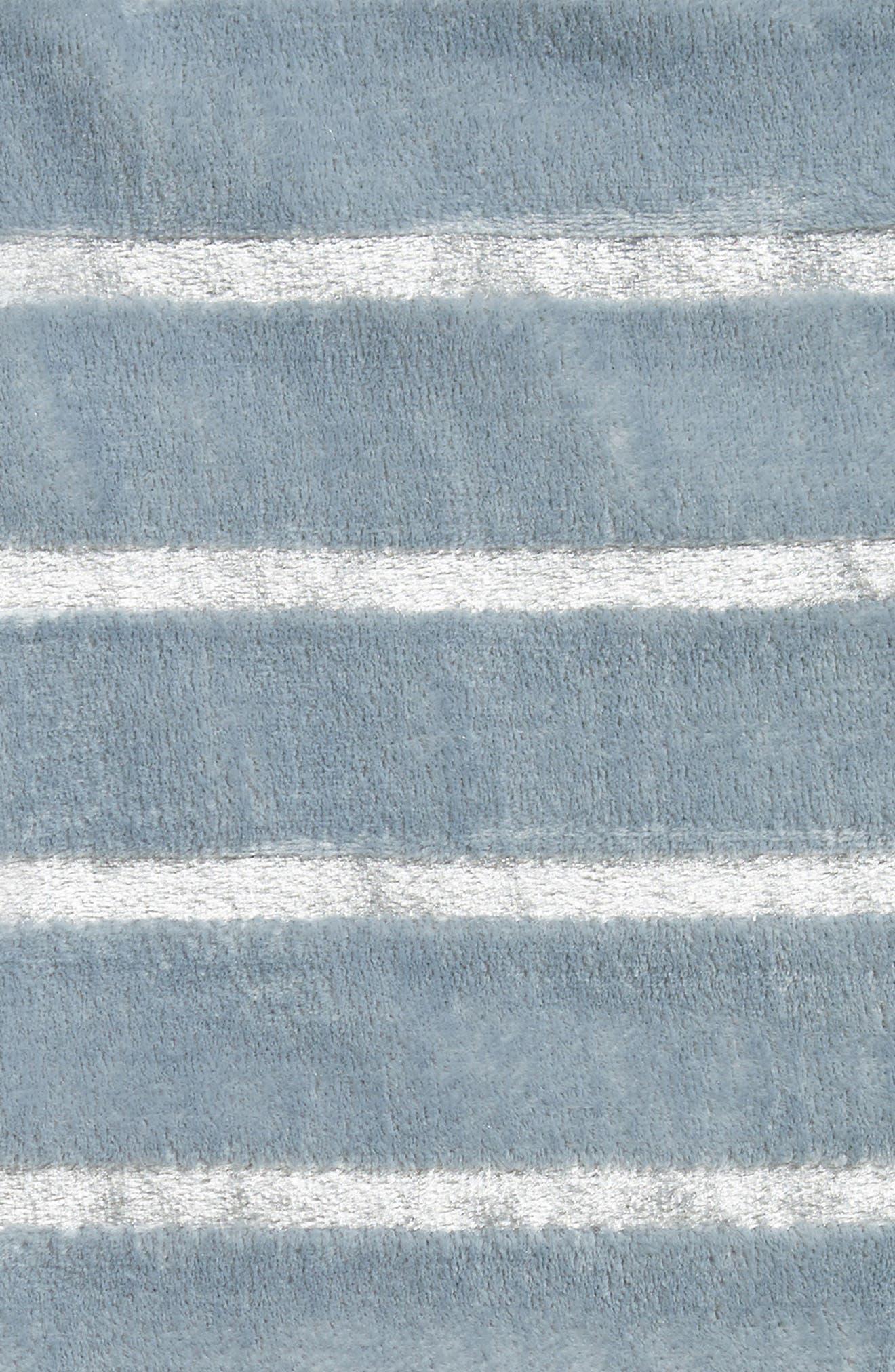 Alternate Image 2  - Nordstrom at Home Shimmer Stripe Throw