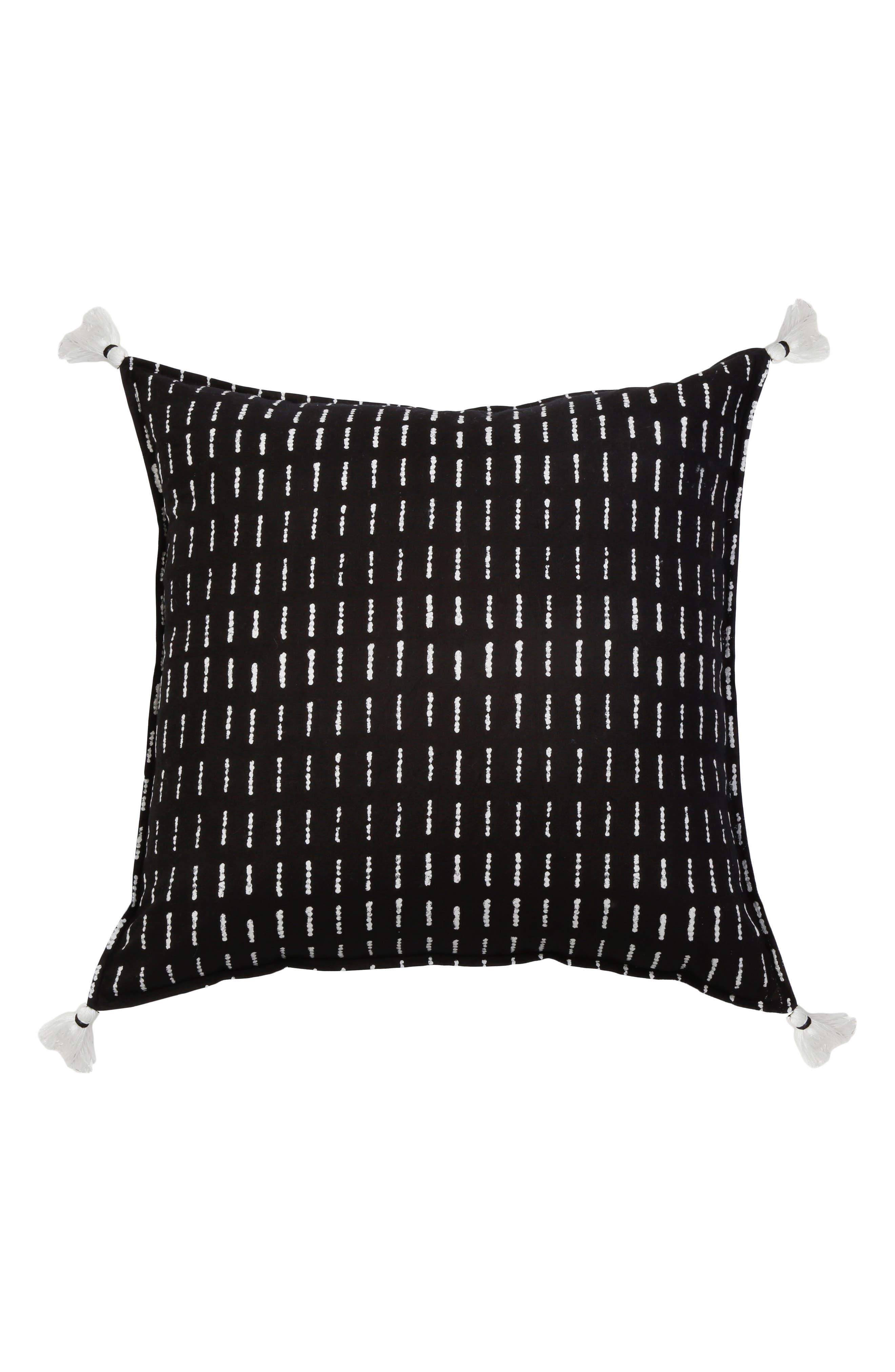 Dash Accent Pillow,                         Main,                         color, Black Multi